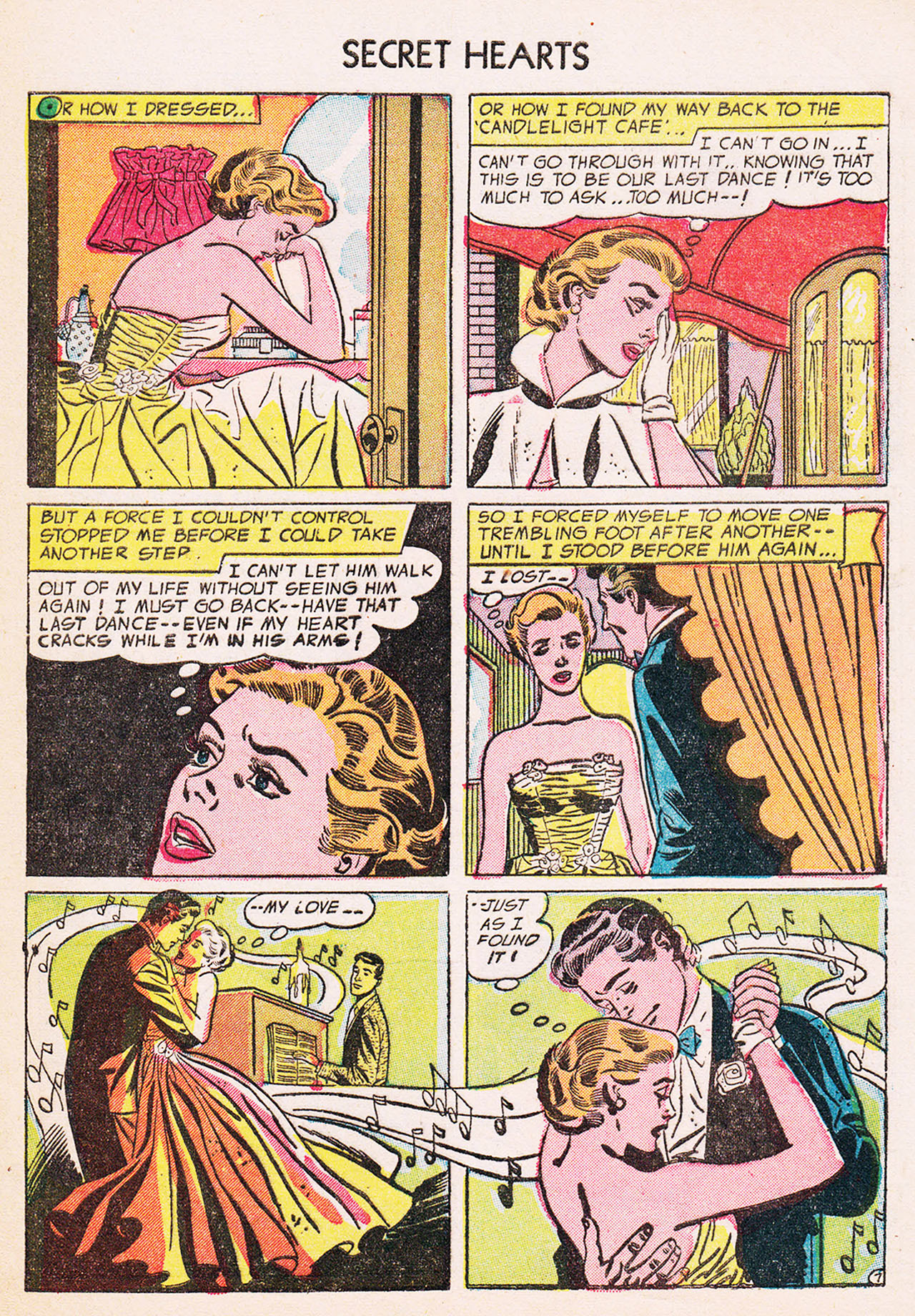 Read online Secret Hearts comic -  Issue #24 - 33