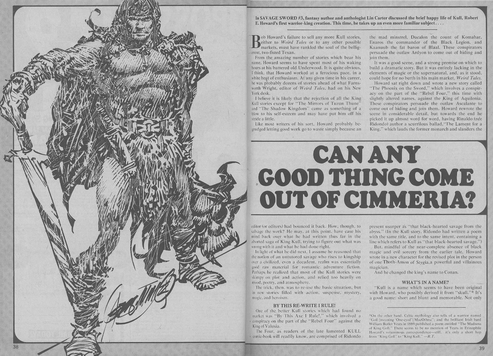 The Savage Sword Of Conan Issue #6 #7 - English 33