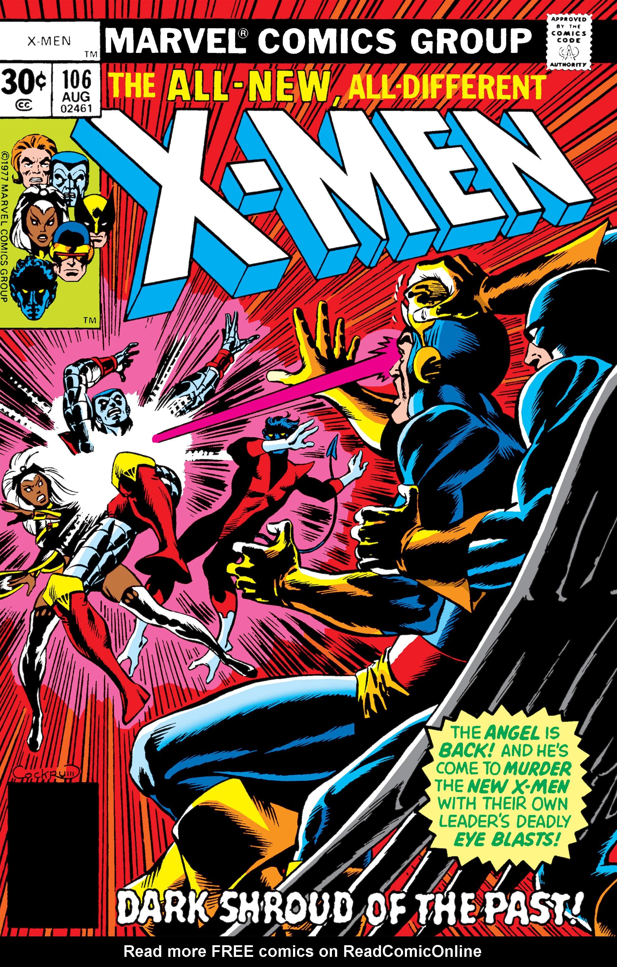 Uncanny X-Men (1963) 106 Page 1