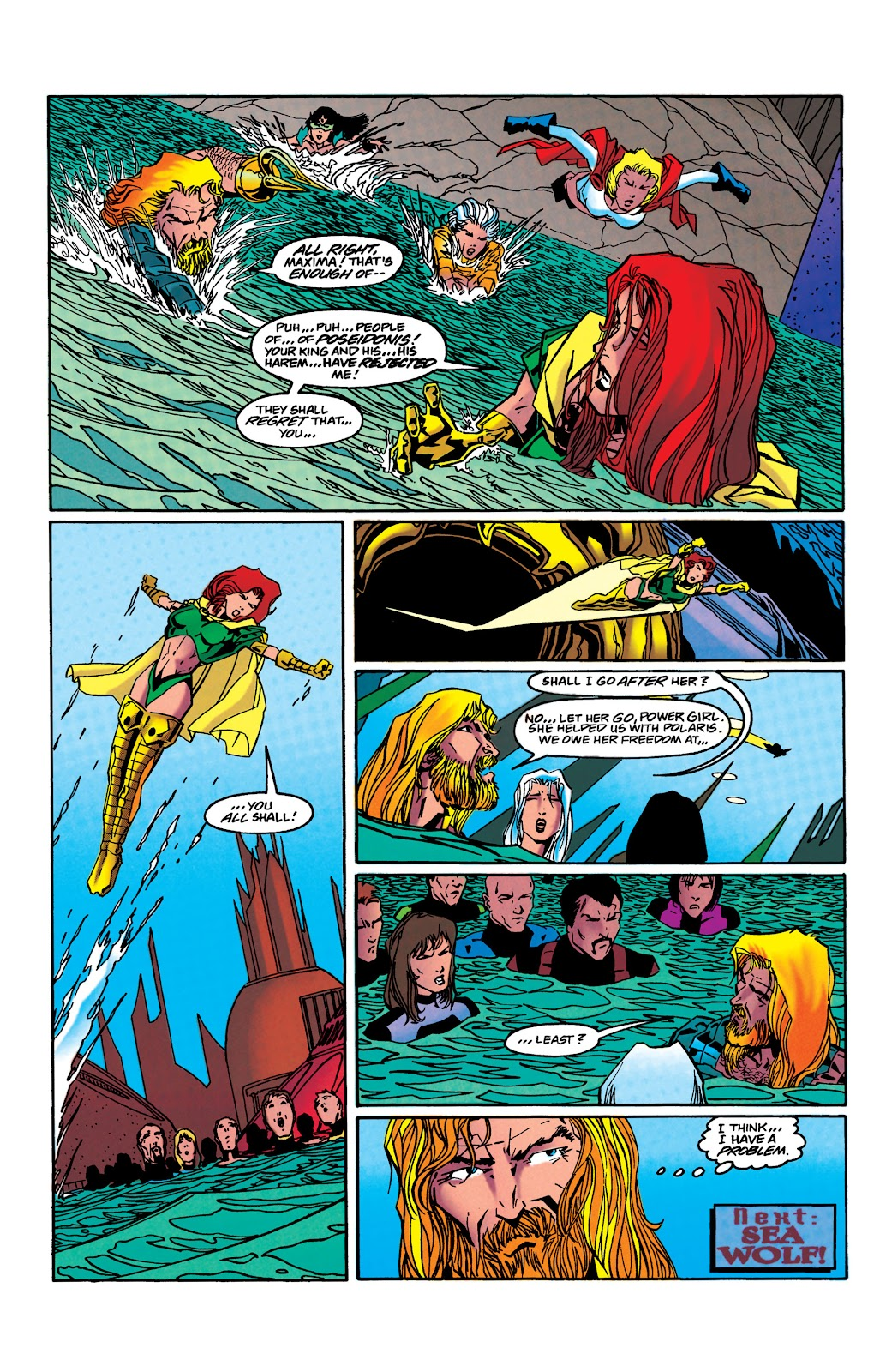 Aquaman (1994) Issue #41 #47 - English 23