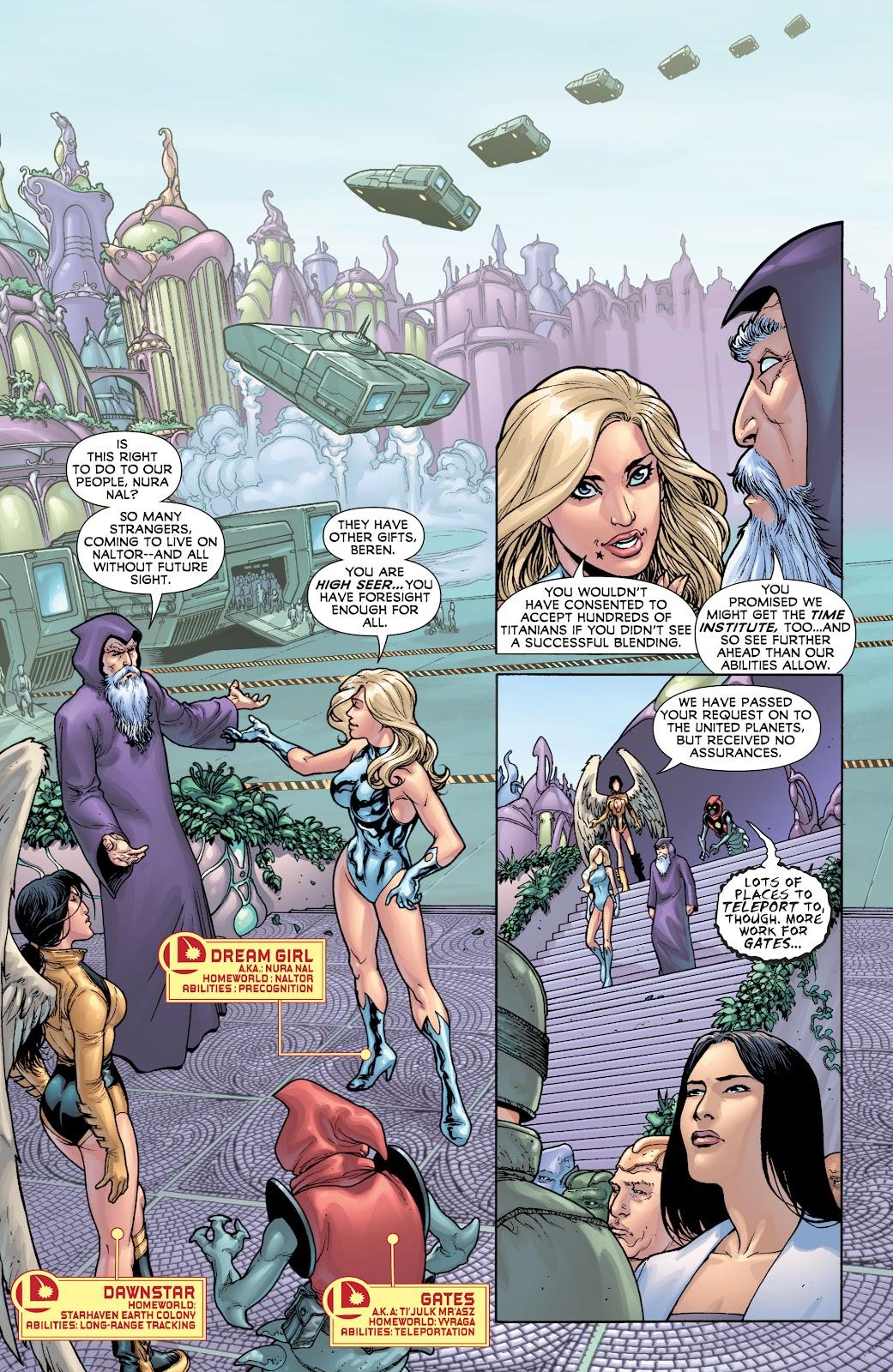 Legion of Super-Heroes (2010) Issue #4 #5 - English 17