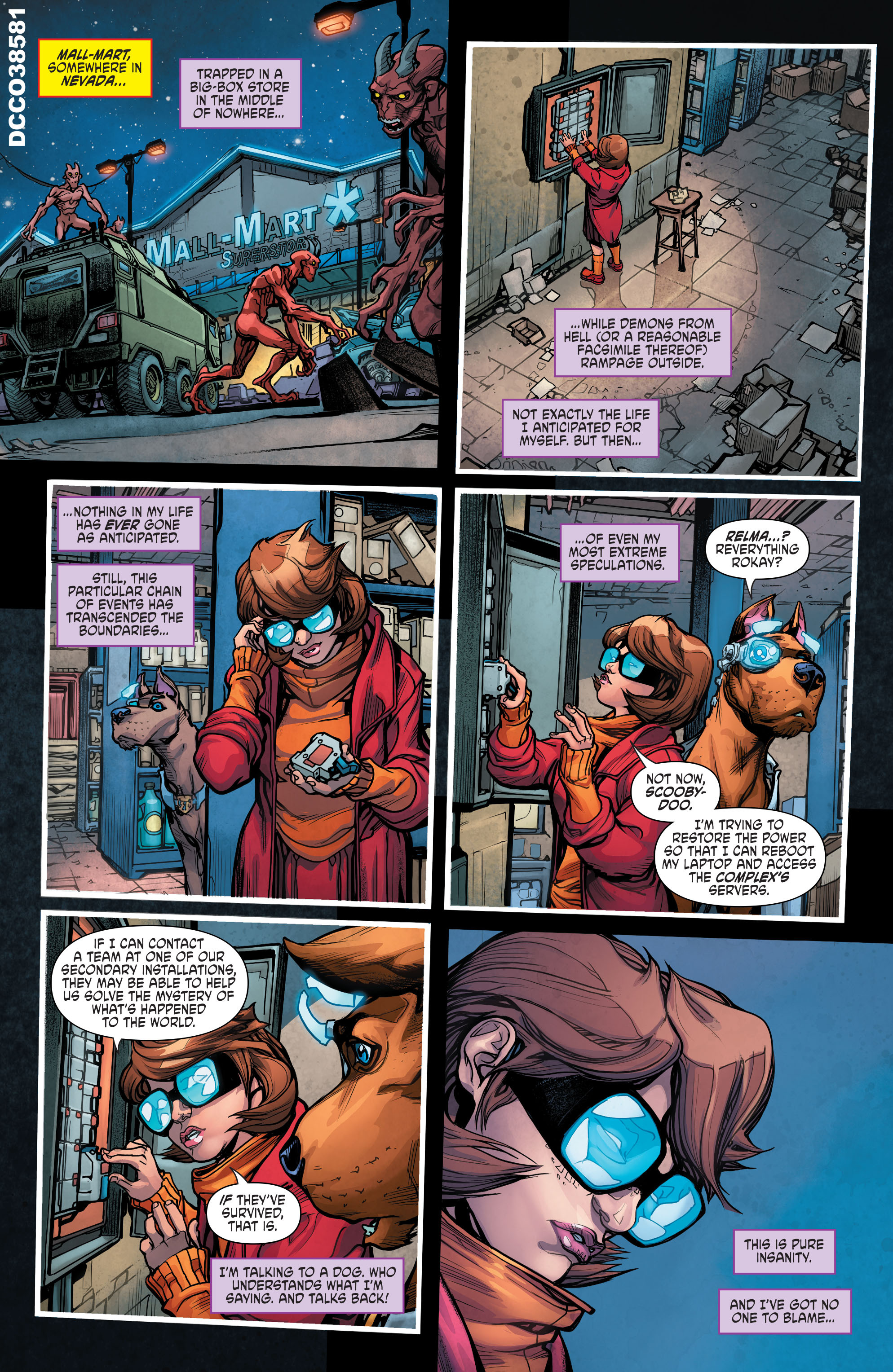 Read online Scooby Apocalypse comic -  Issue #6 - 4