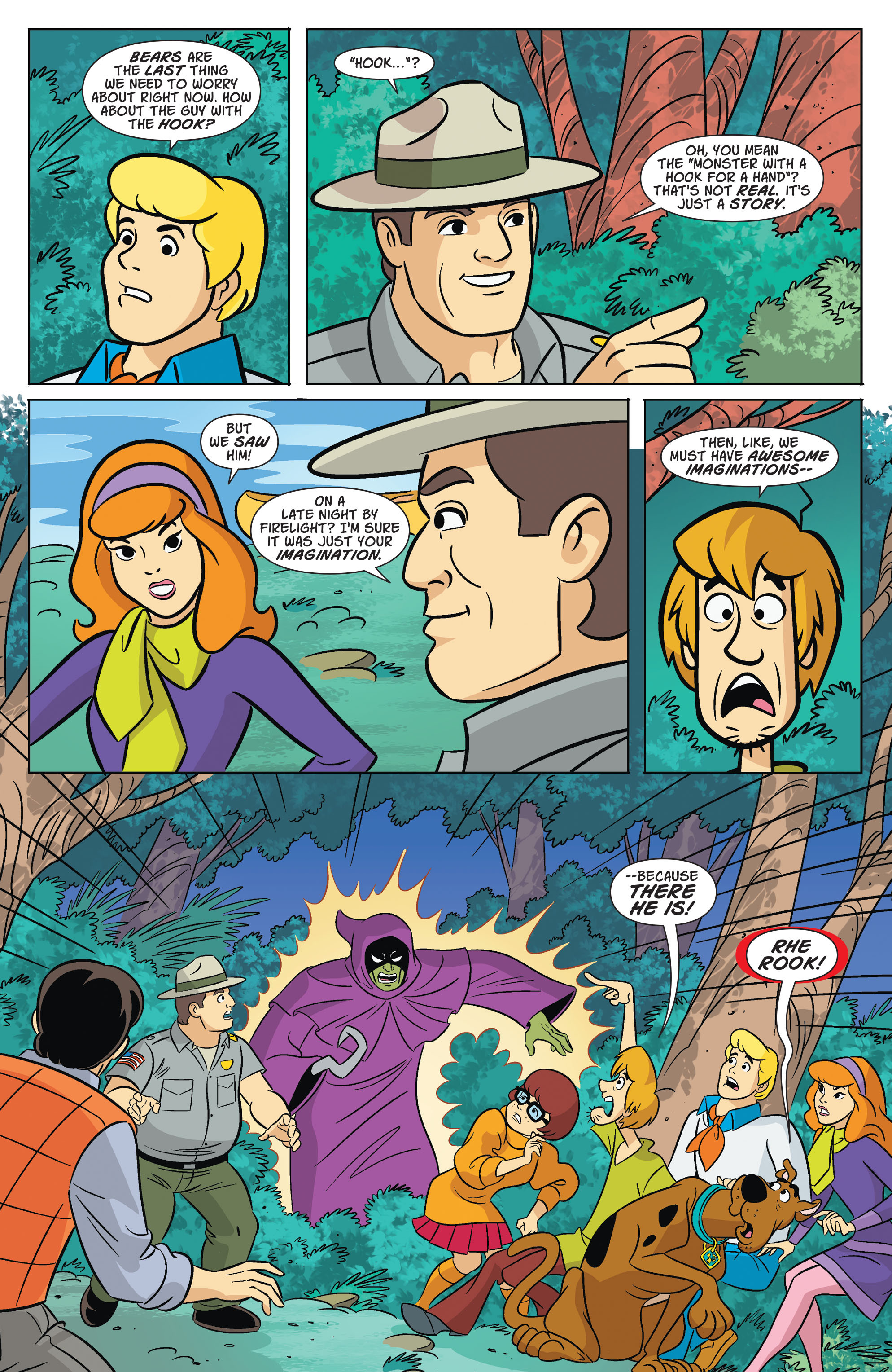 Read online Scooby-Doo: Where Are You? comic -  Issue #67 - 5