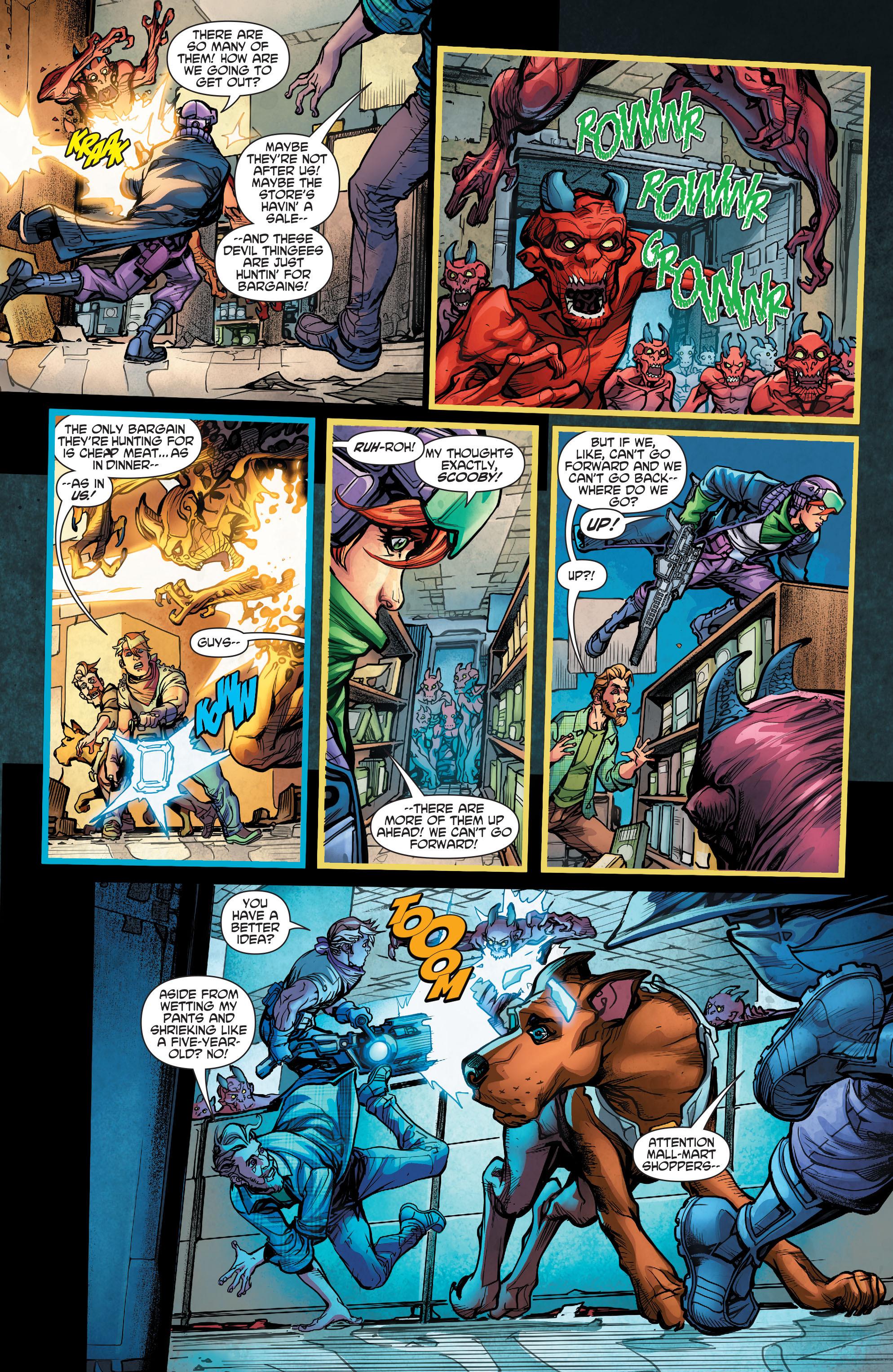Read online Scooby Apocalypse comic -  Issue #5 - 8