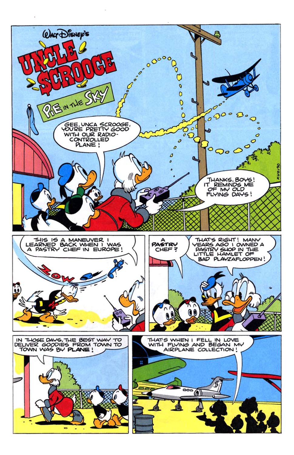 Uncle Scrooge (1953) Issue #243 #243 - English 3