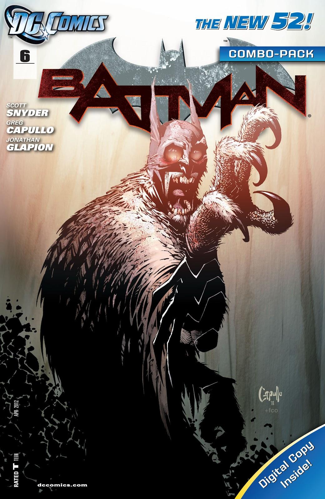 Batman (2011) Issue #6 #21 - English 4
