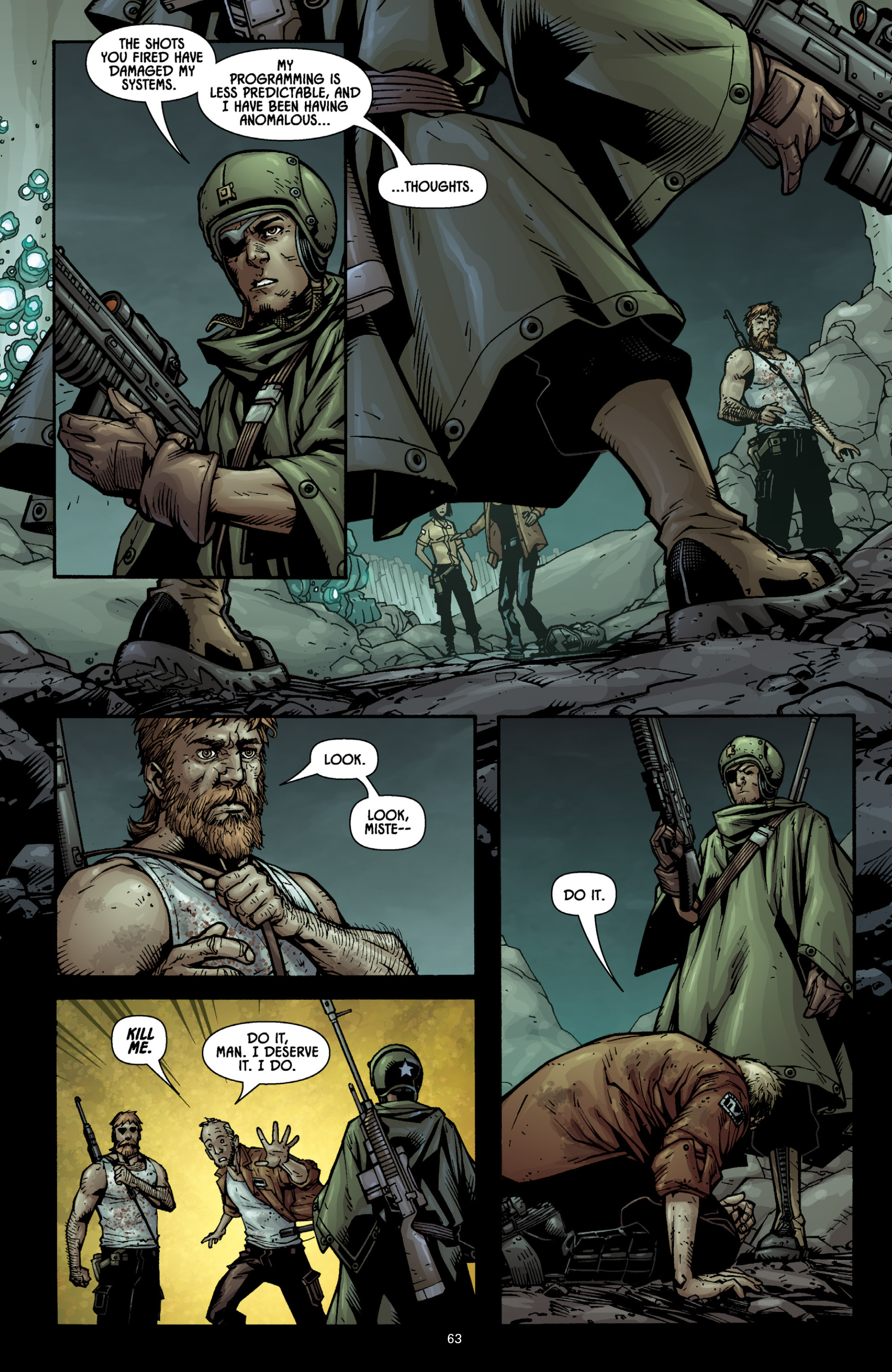 Aliens (2009) TPB Page 58