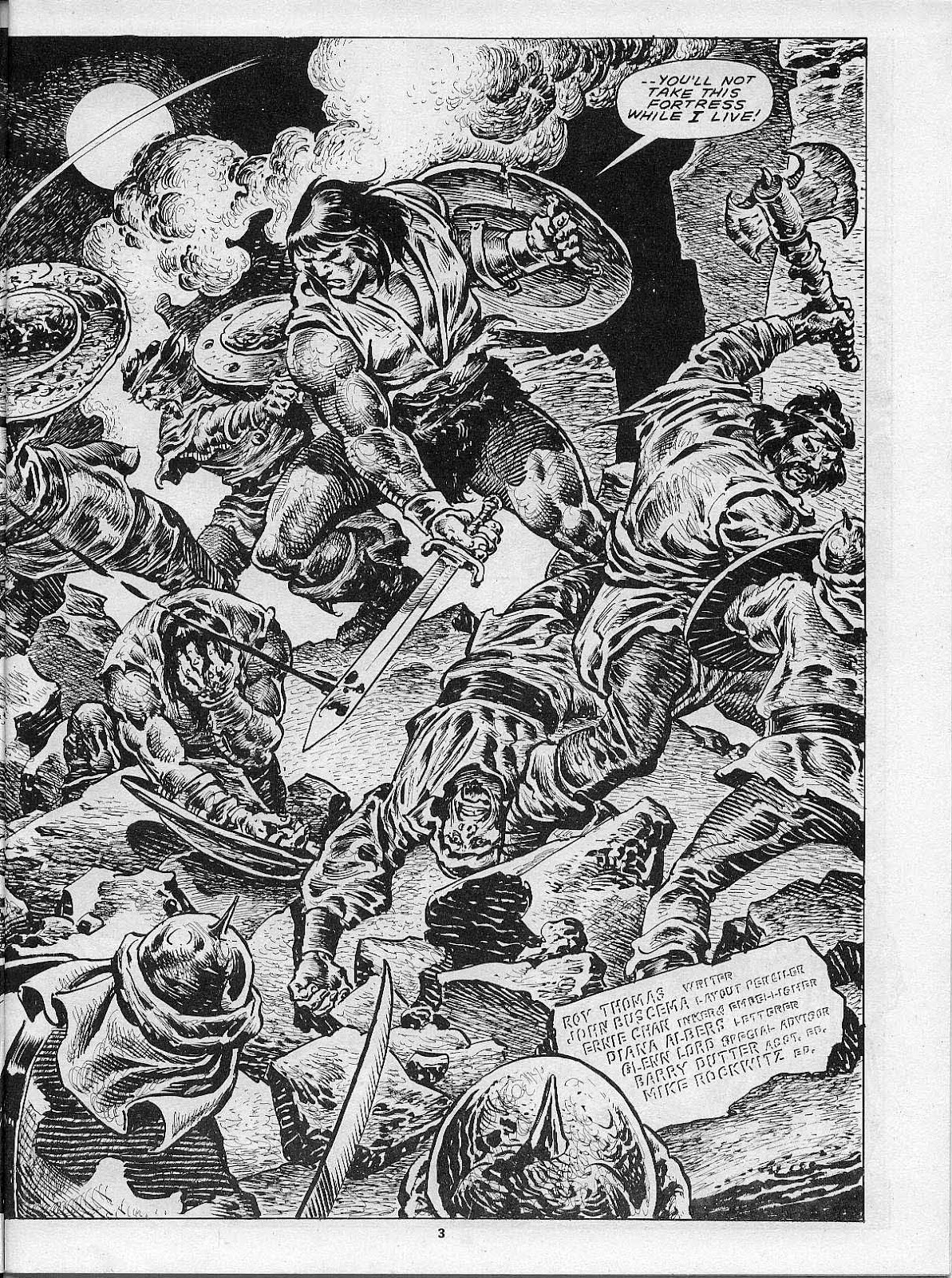 The Savage Sword Of Conan Issue #200 #201 - English 5