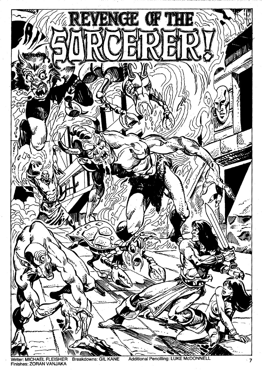 The Savage Sword Of Conan Issue #86 #87 - English 7