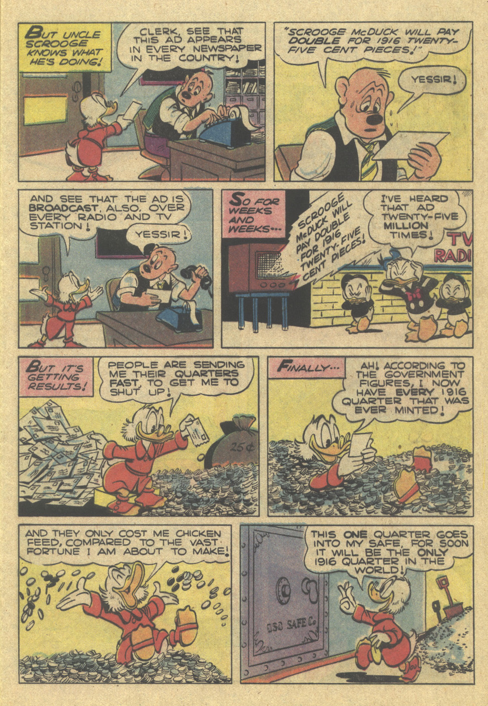 Uncle Scrooge (1953) Issue #189 #189 - English 9