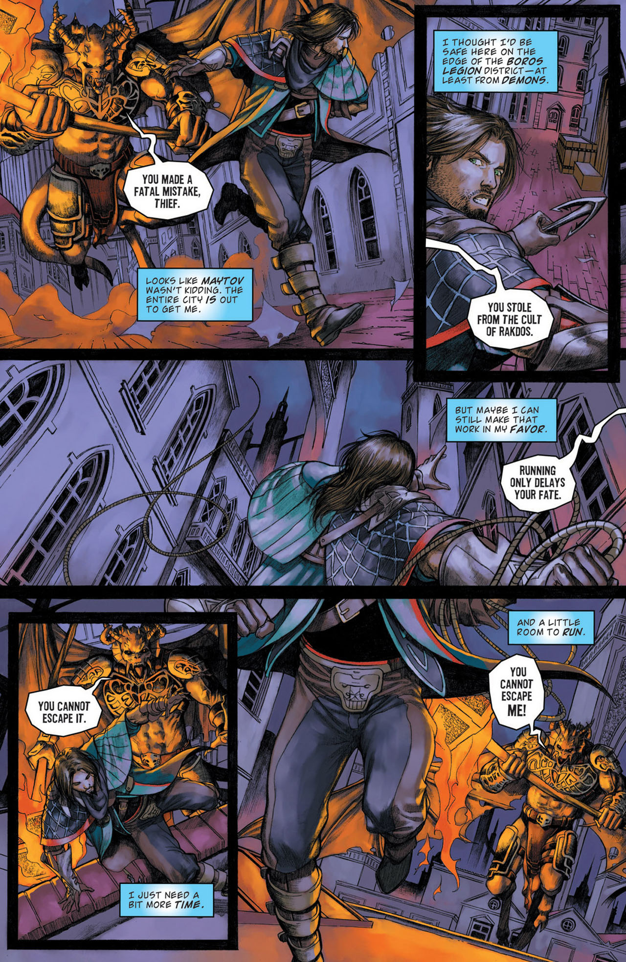 Read online Magic: The Gathering--Path of Vengeance comic -  Issue #1 - 20