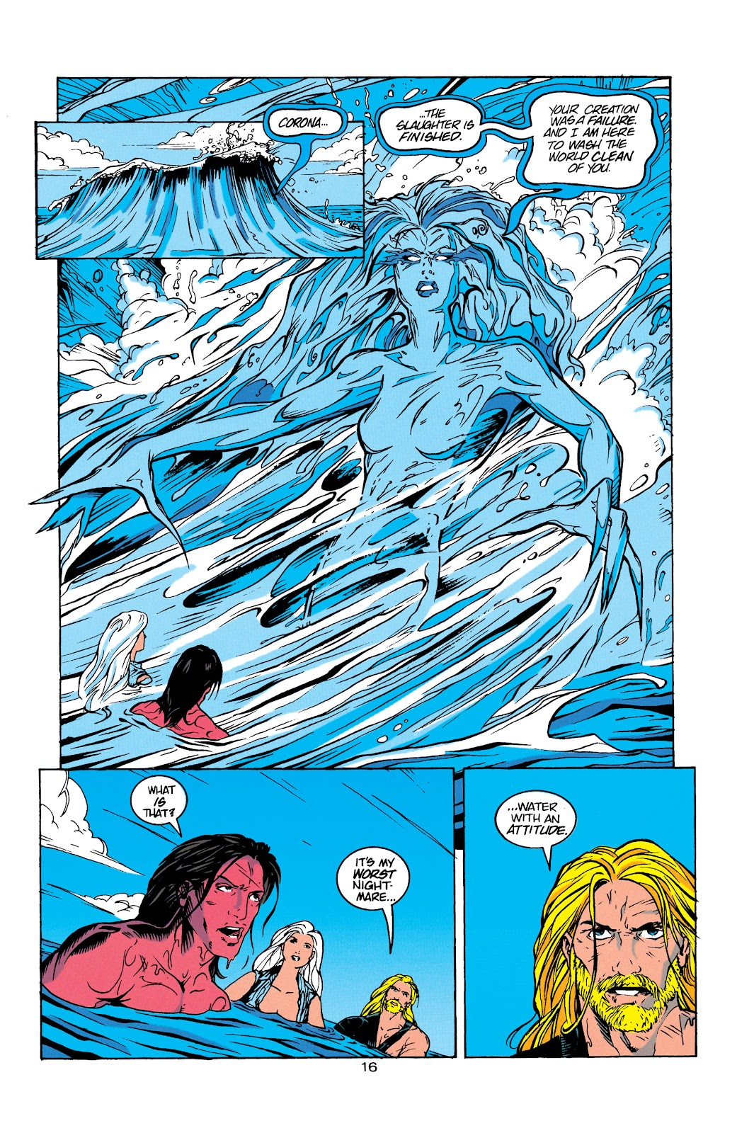 Aquaman (1994) Issue #8 #14 - English 17