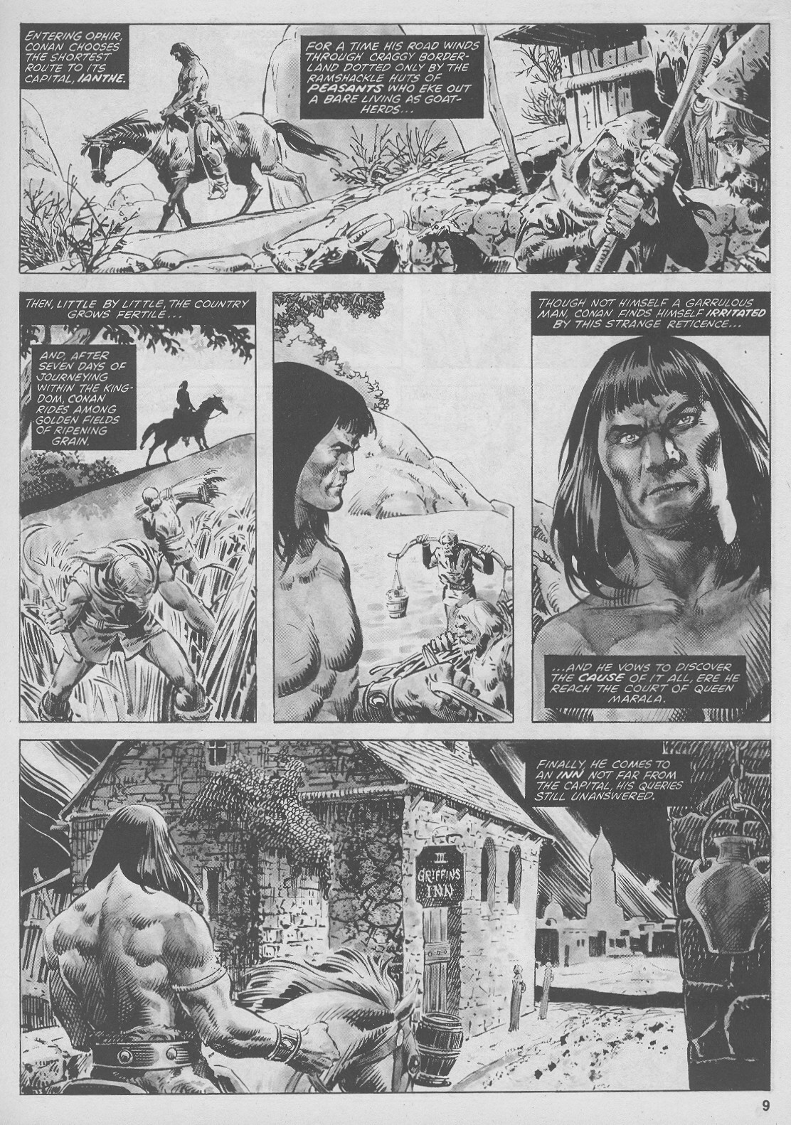 The Savage Sword Of Conan Issue #44 #45 - English 9