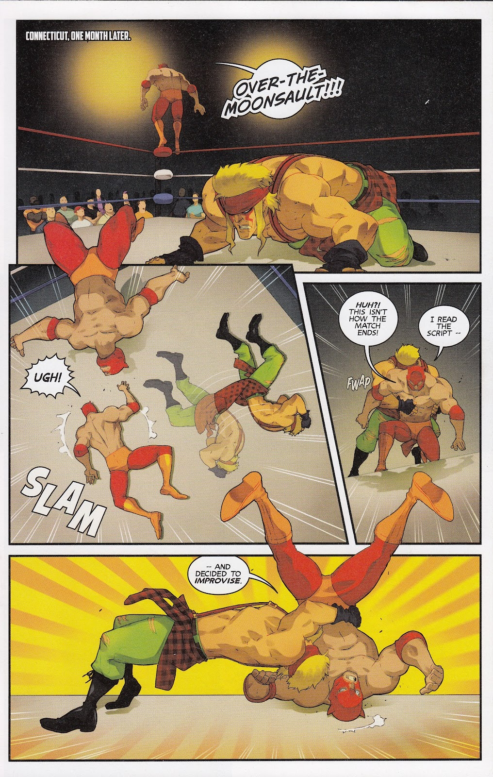 Street Fighter Unlimited Issue #12 #14 - English 20