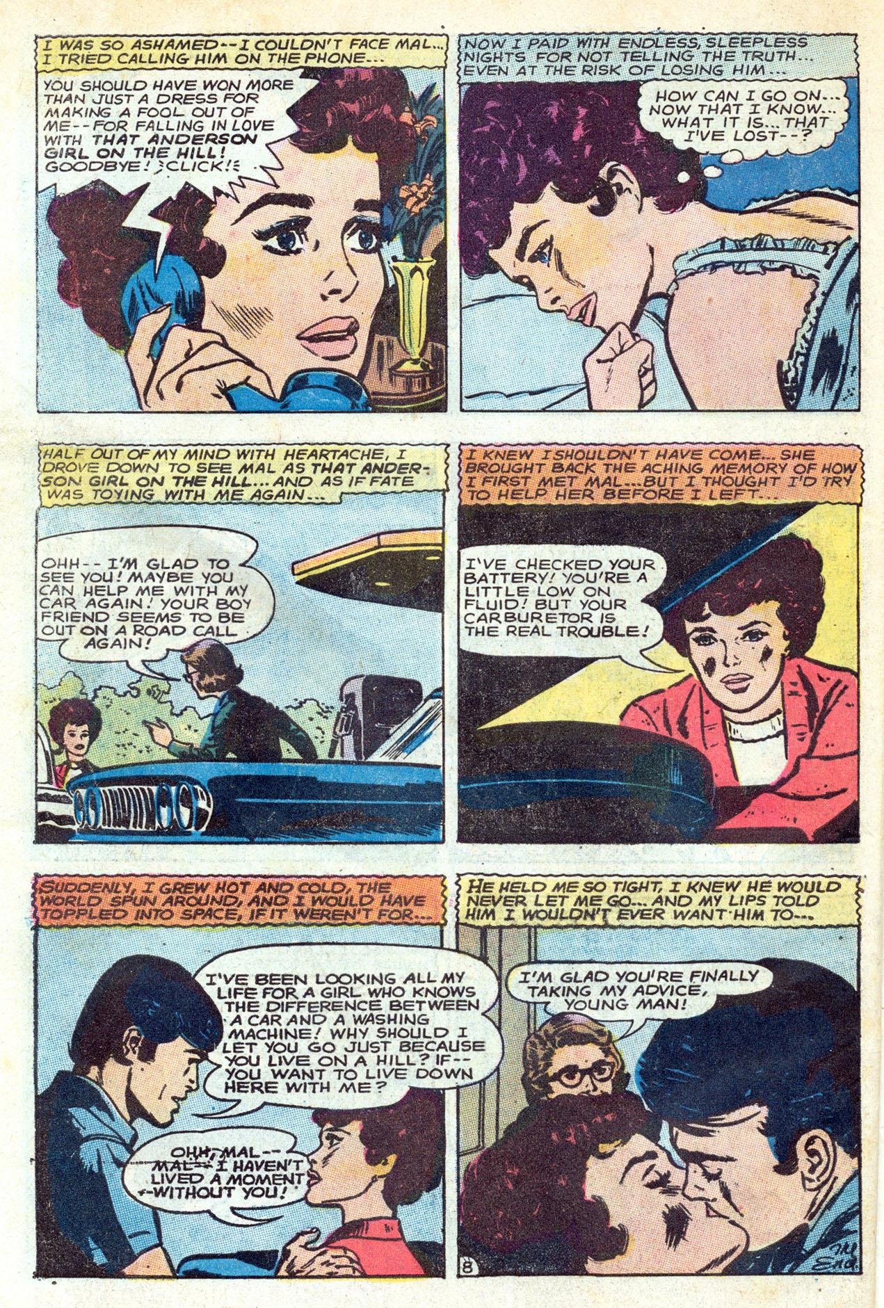 Read online Secret Hearts comic -  Issue #149 - 34