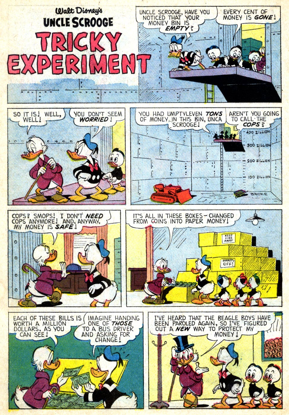 Uncle Scrooge (1953) Issue #39 #39 - English 25