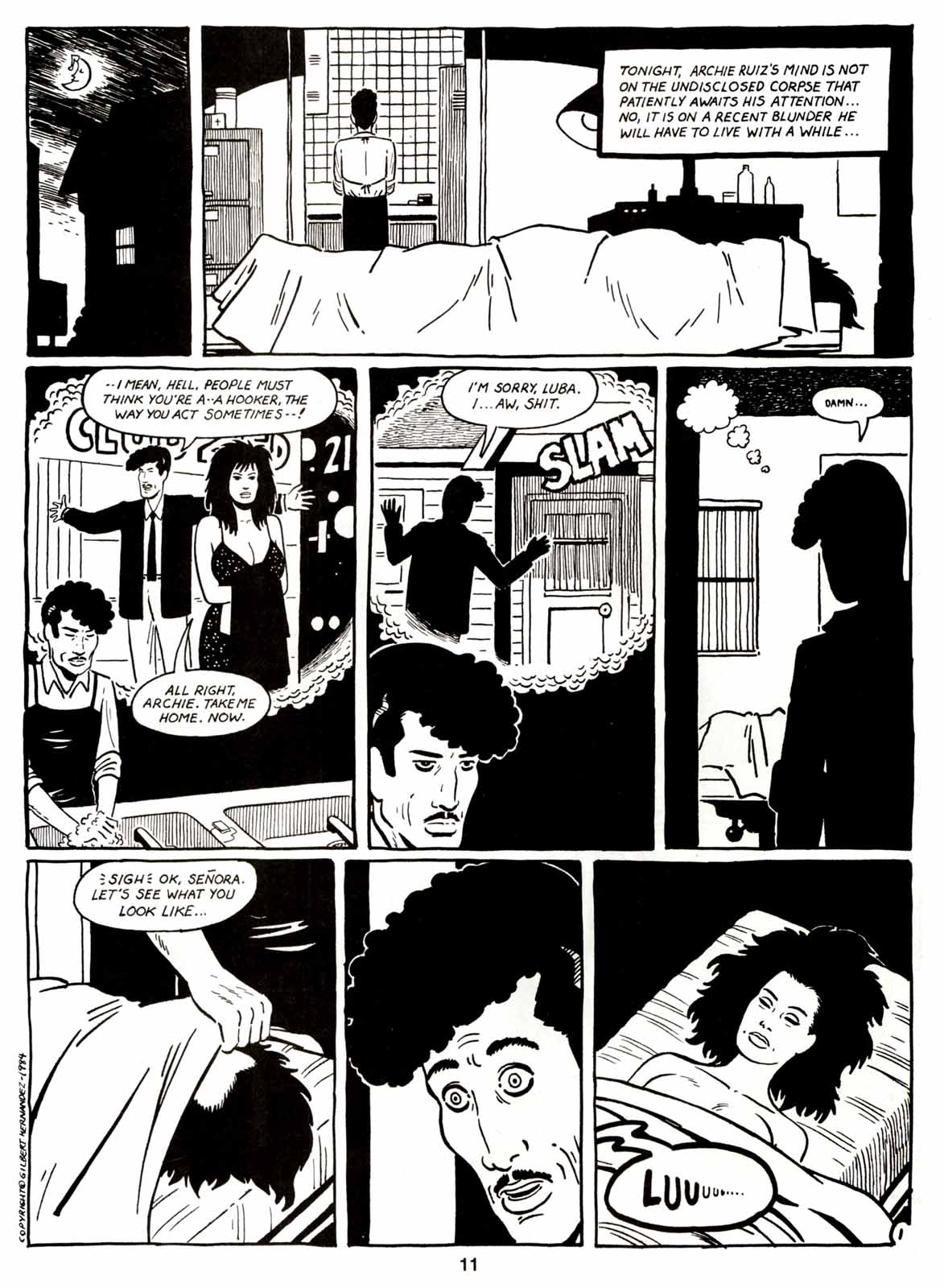 Love and Rockets (1982) Issue #7 #6 - English 13