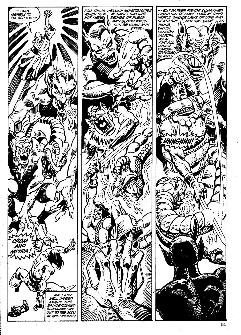 The Savage Sword Of Conan Issue #86 #87 - English 51