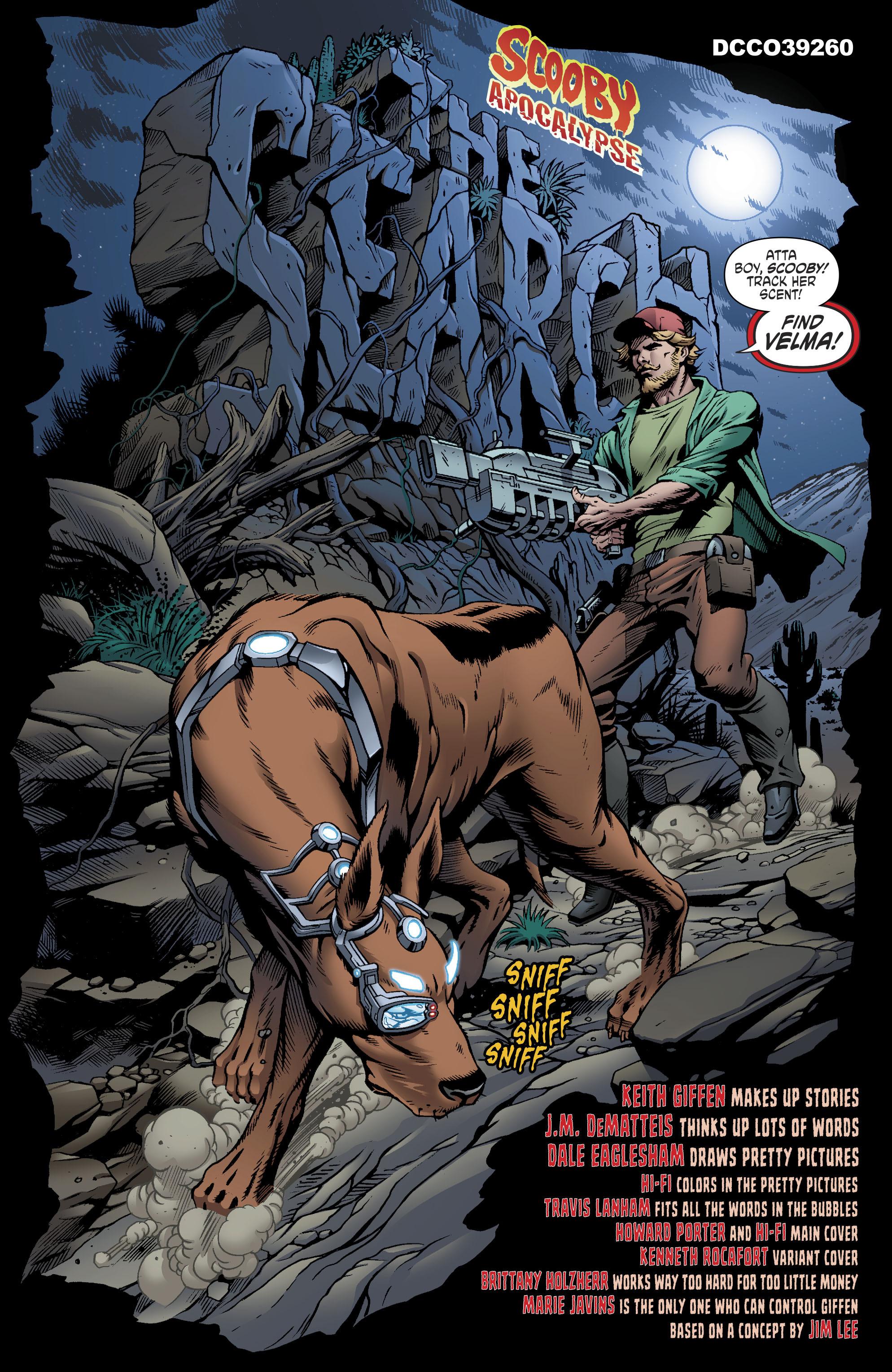 Read online Scooby Apocalypse comic -  Issue #11 - 4