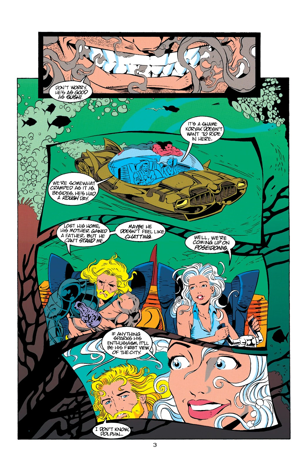 Aquaman (1994) Issue #9 #15 - English 4