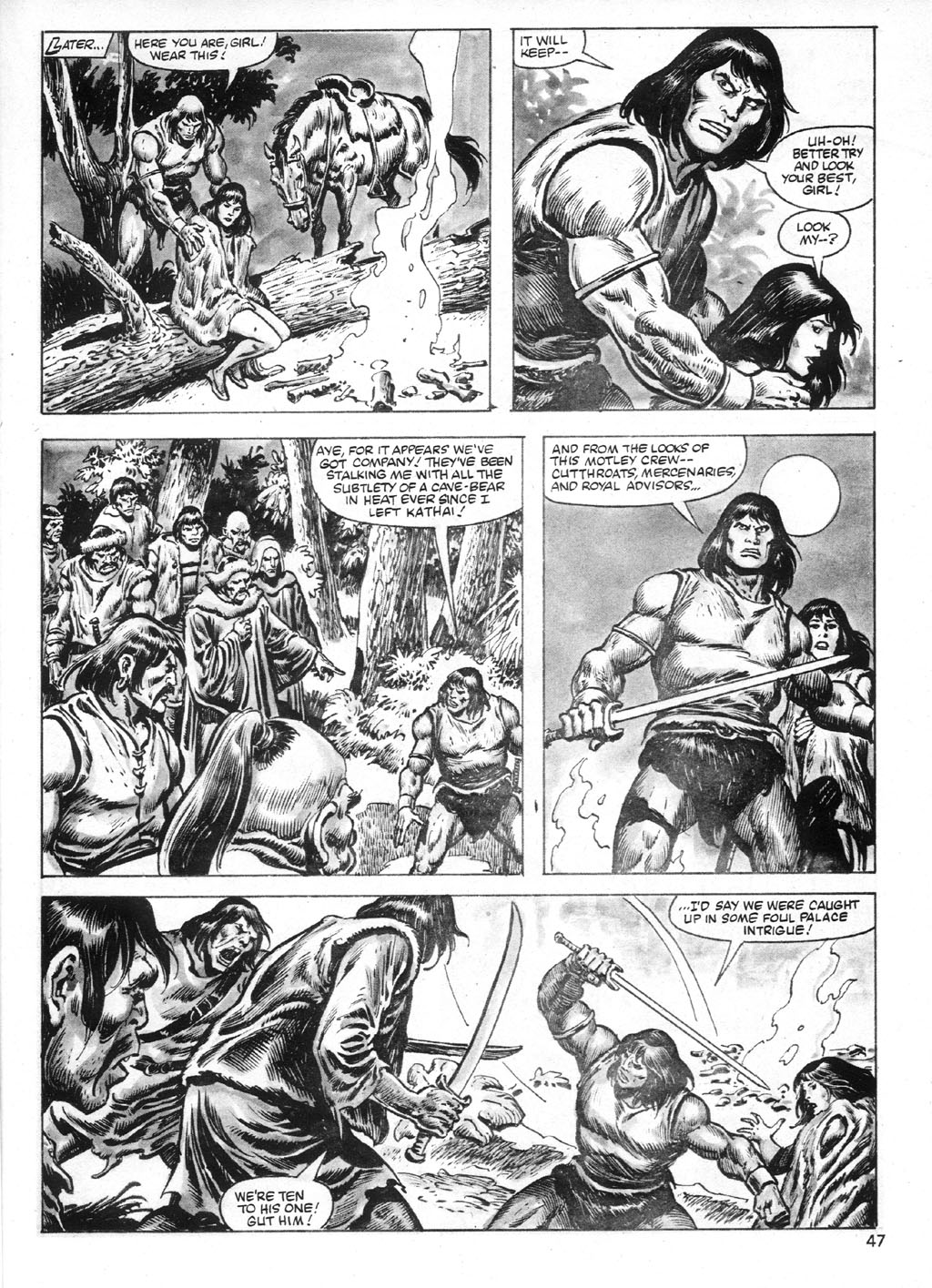 The Savage Sword Of Conan Issue #95 #96 - English 47