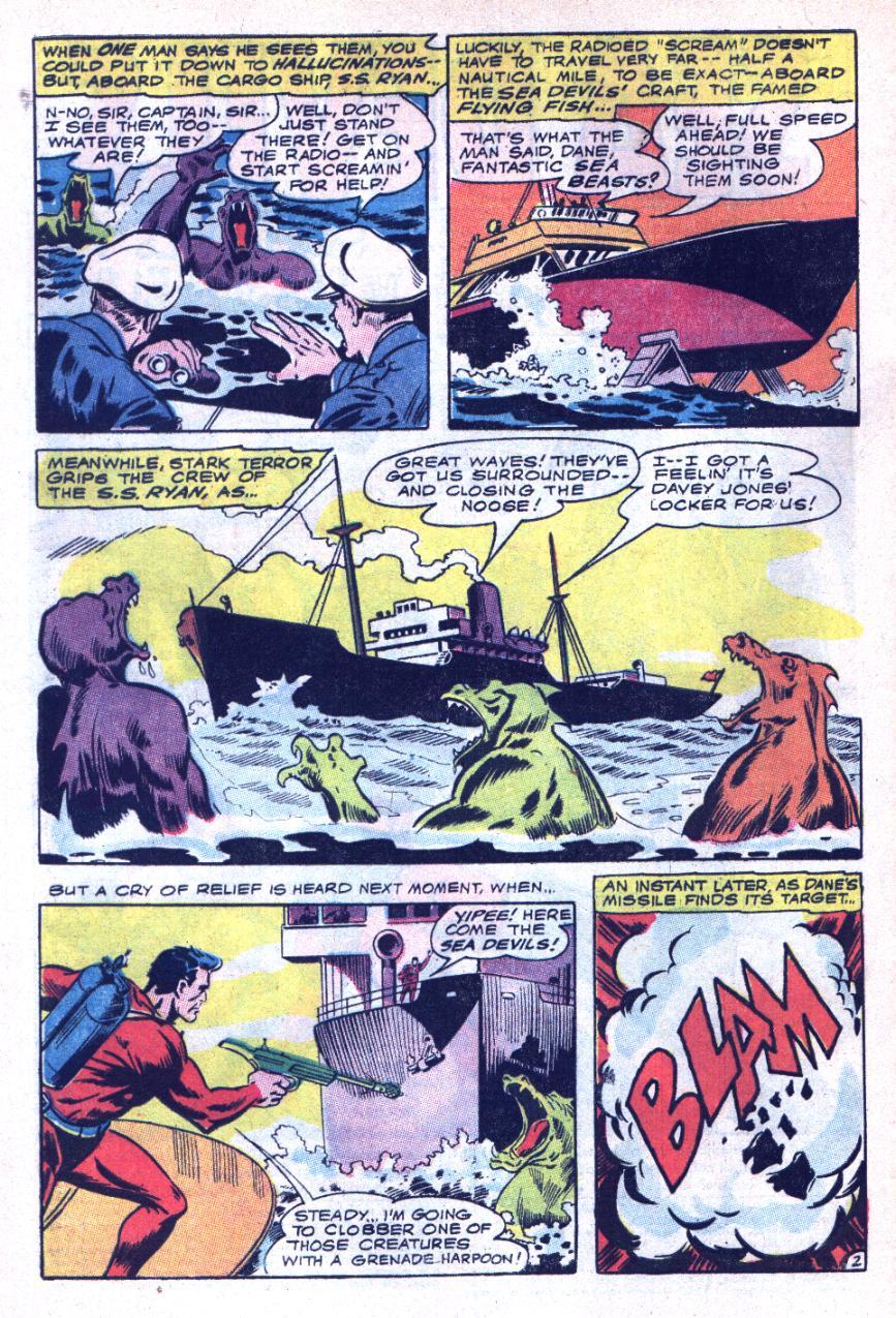Read online Sea Devils comic -  Issue #34 - 5