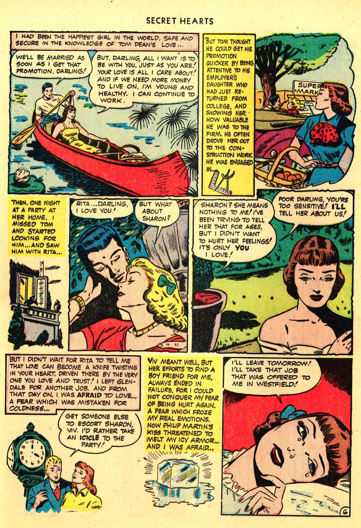 Read online Secret Hearts comic -  Issue #4 - 34