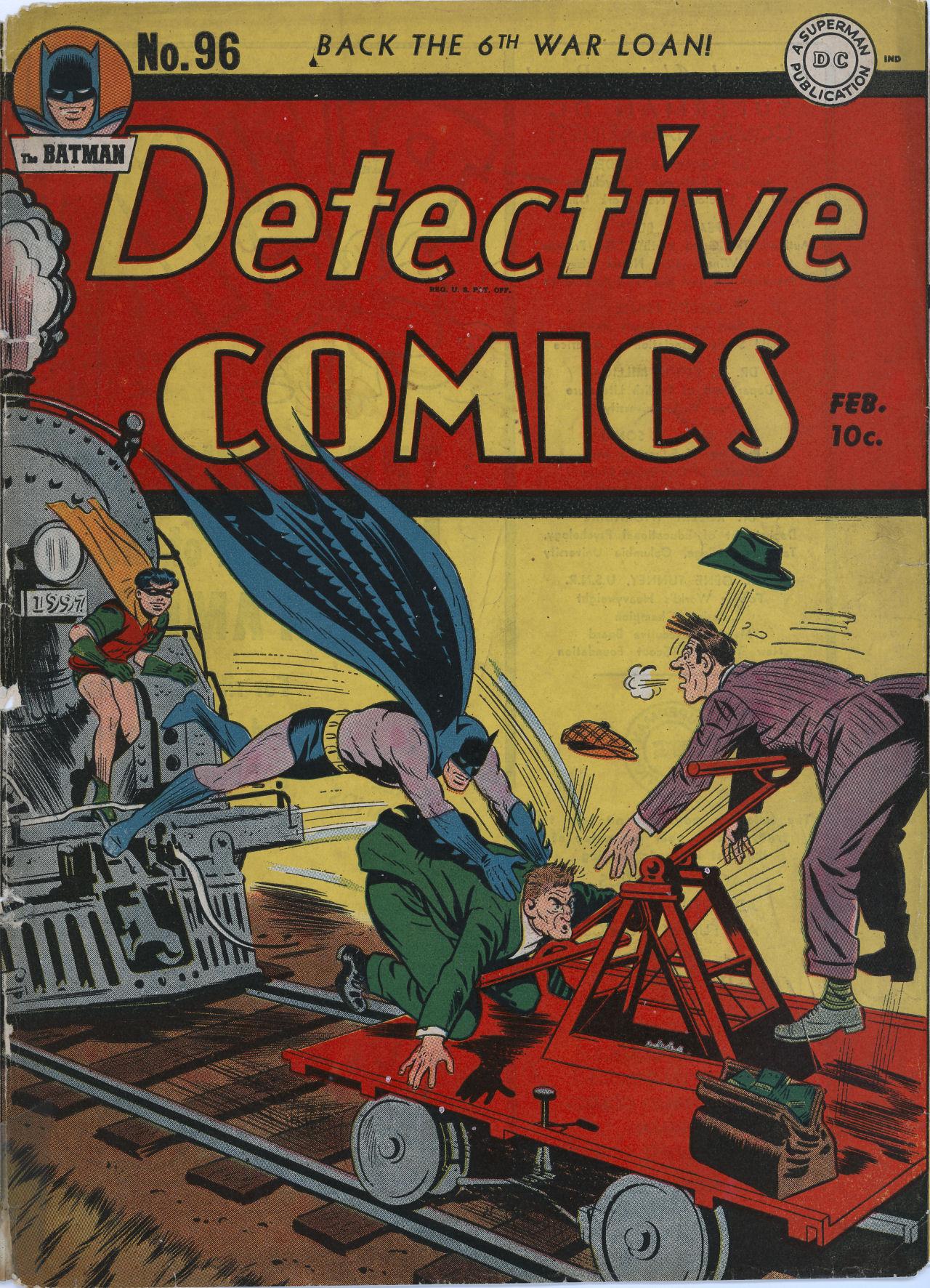 Detective Comics (1937) 96 Page 1