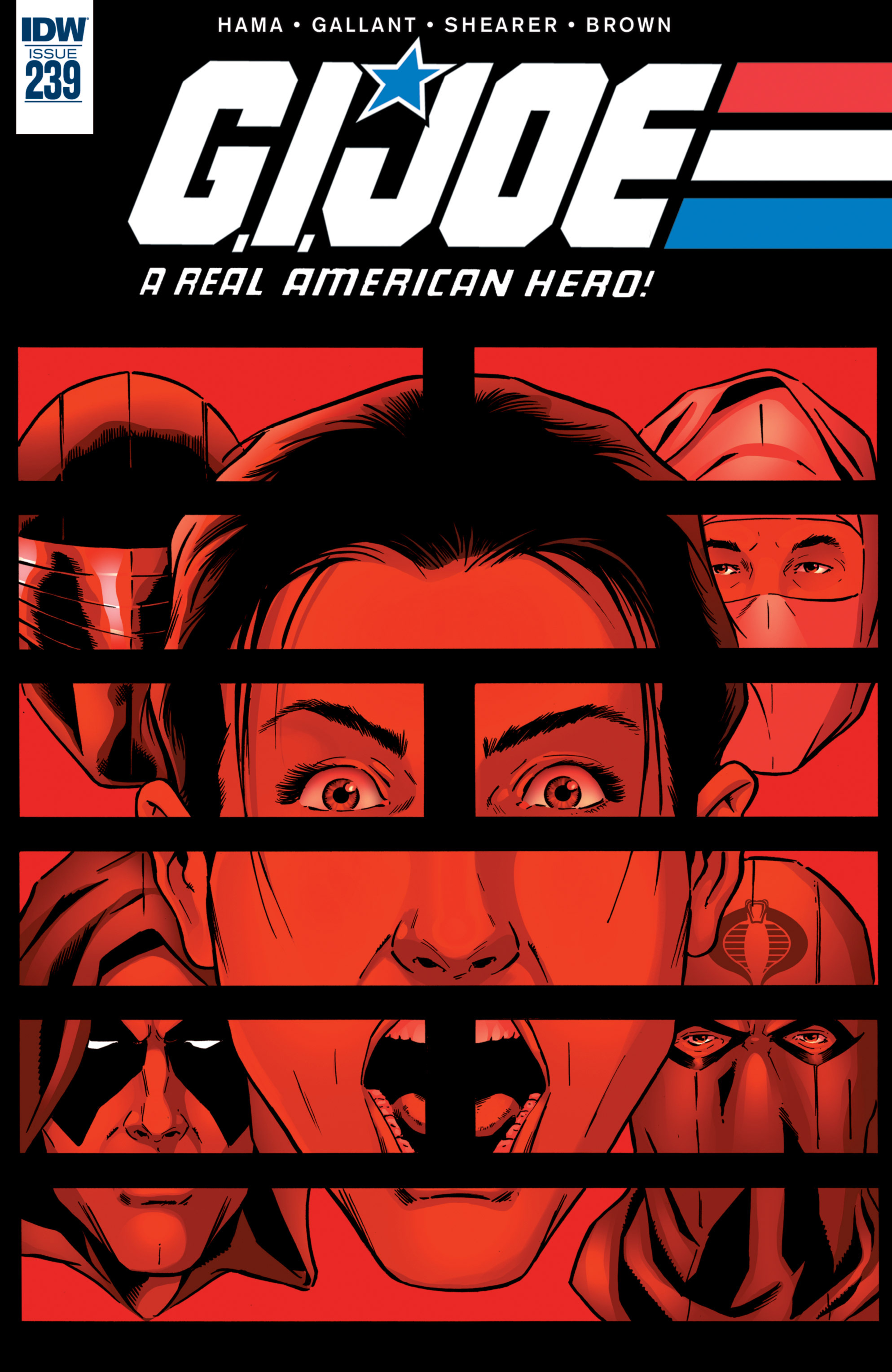 G.I. Joe: A Real American Hero 239 Page 1