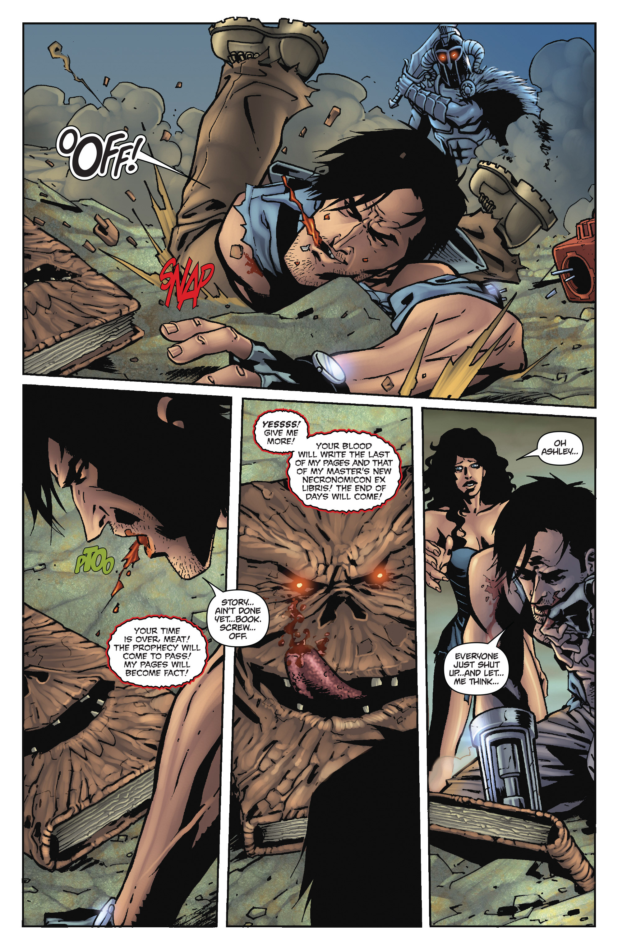 Army of Darkness: The Long Road Home TPB Page 97