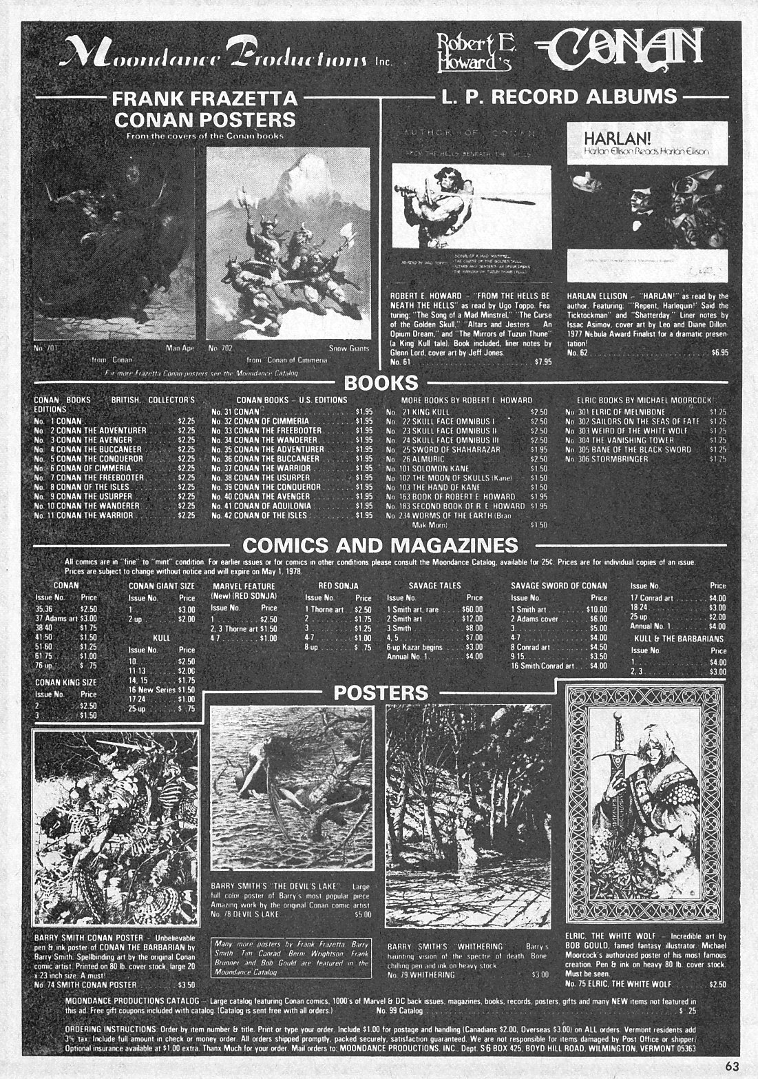 The Savage Sword Of Conan Issue #28 #29 - English 63