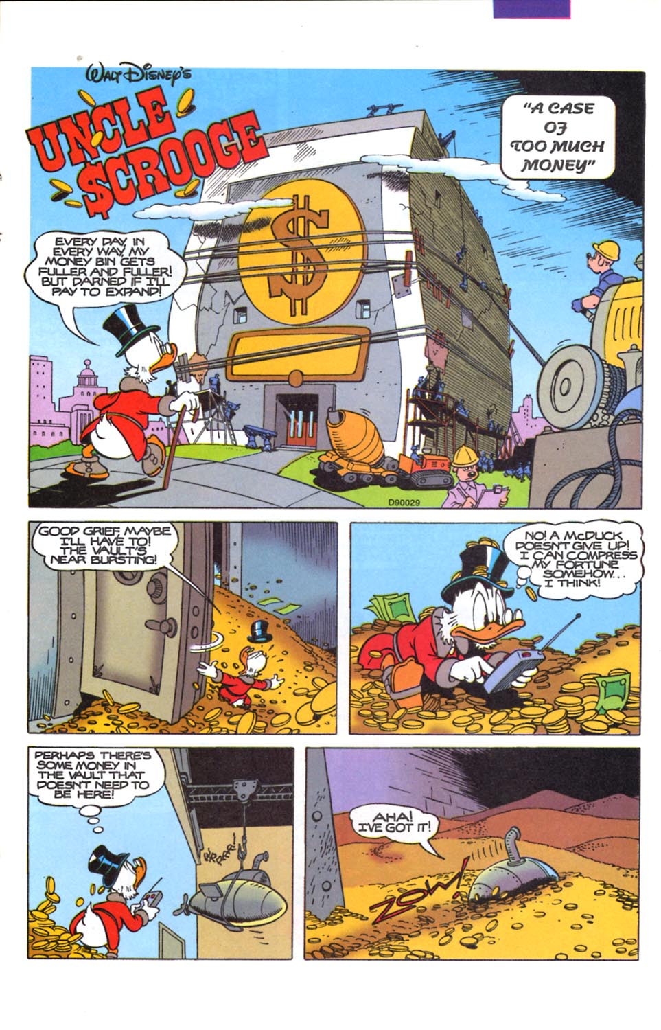 Uncle Scrooge (1953) Issue #291 #291 - English 20