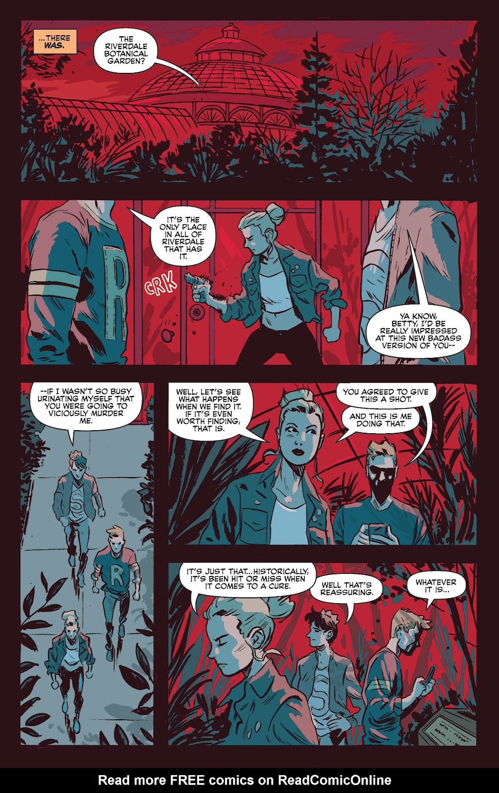 Jughead The Hunger Issue #0 #1 - English 32