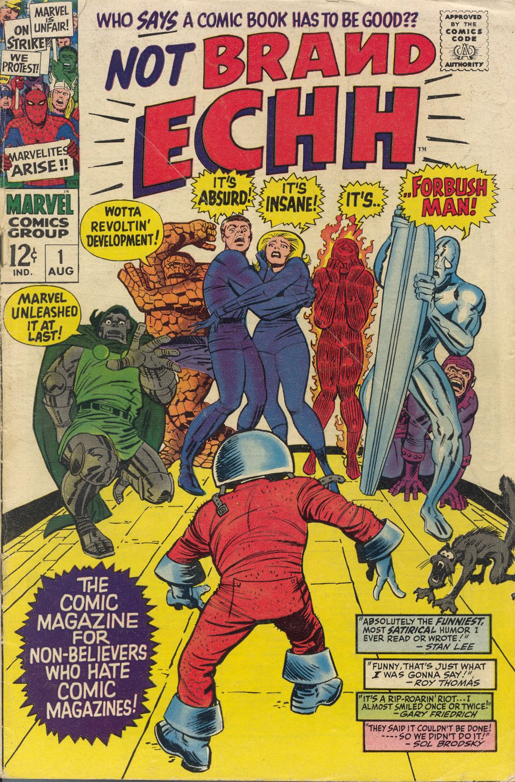Not Brand Echh Issue #1 #1 - English 1