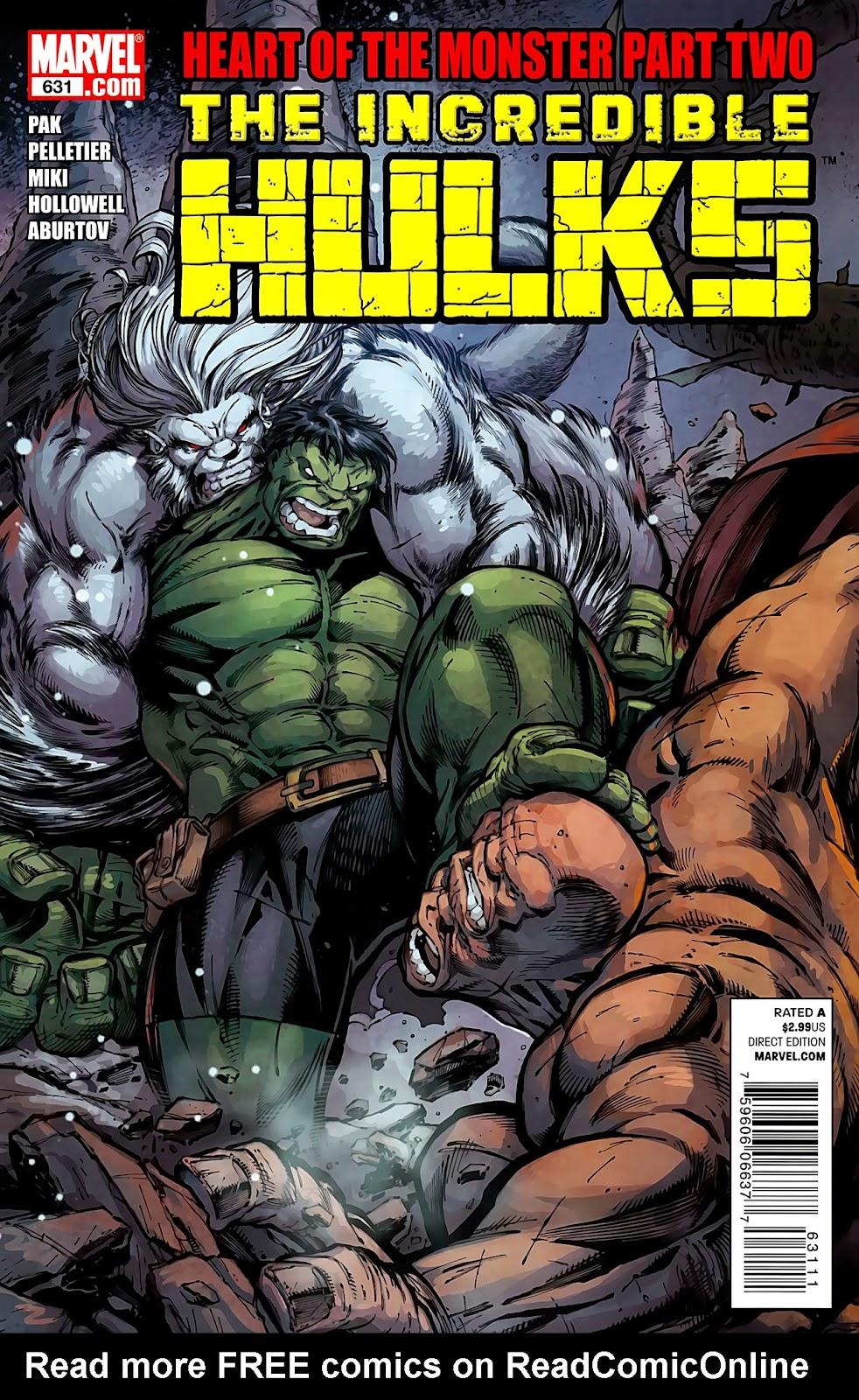 Incredible Hulks (2010) Issue #631 #21 - English 1