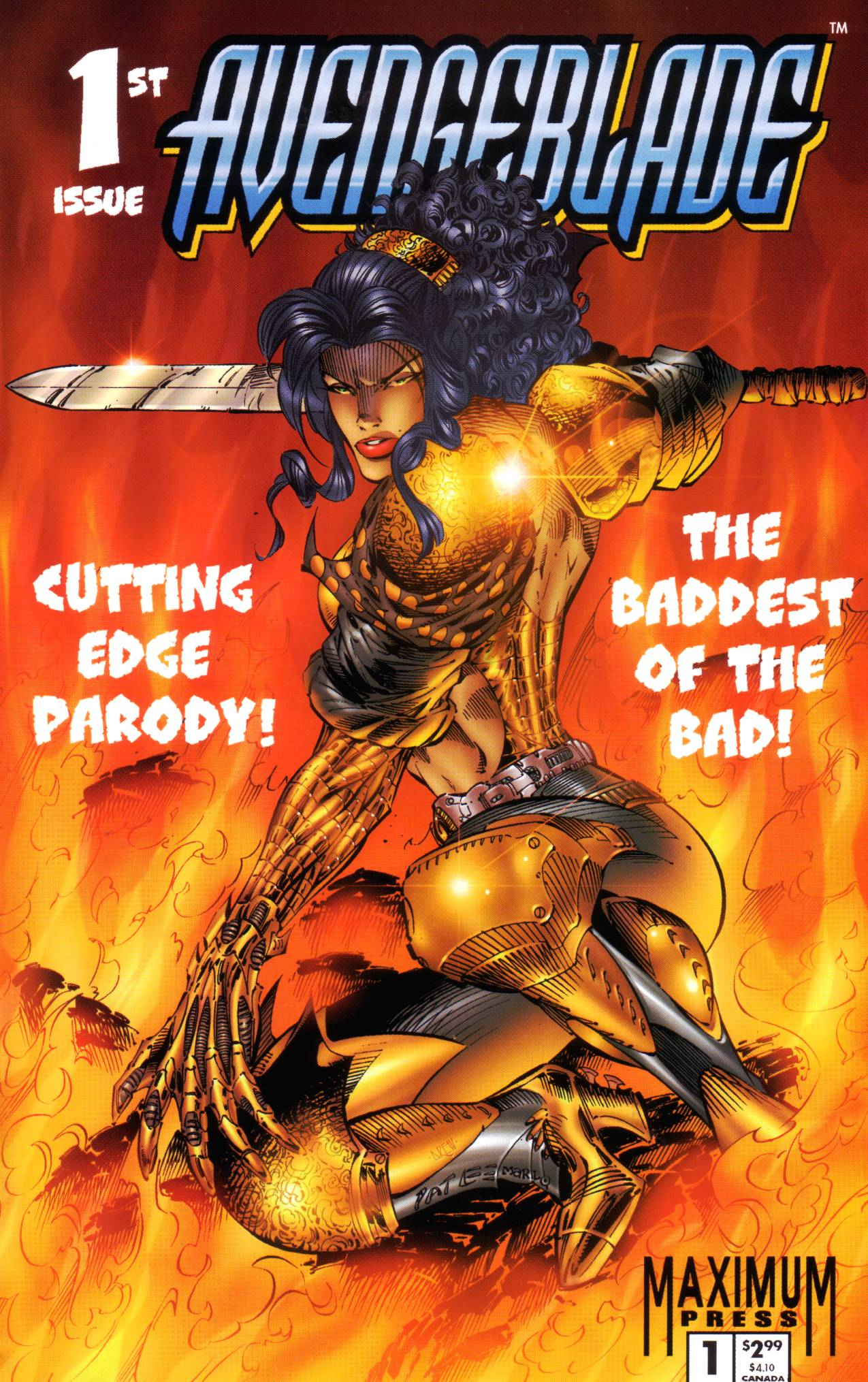 Avengeblade 1 Page 1