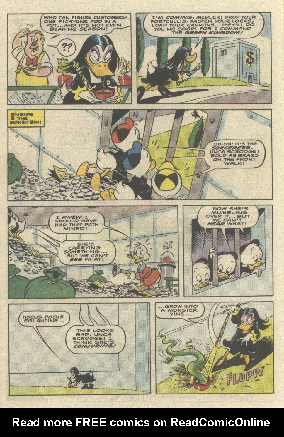 Uncle Scrooge (1953) Issue #221 #221 - English 14