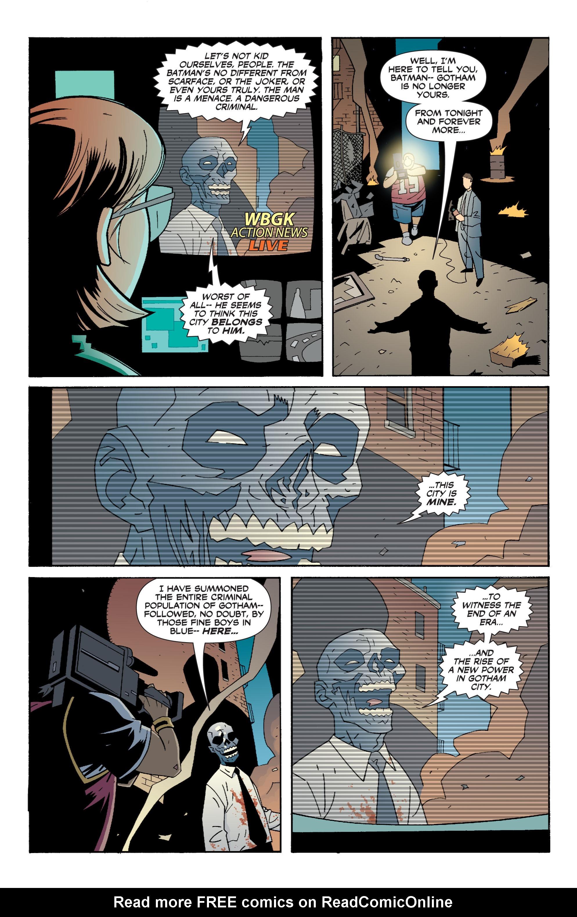 Read online Batman: War Games comic -  Issue #6 - 21