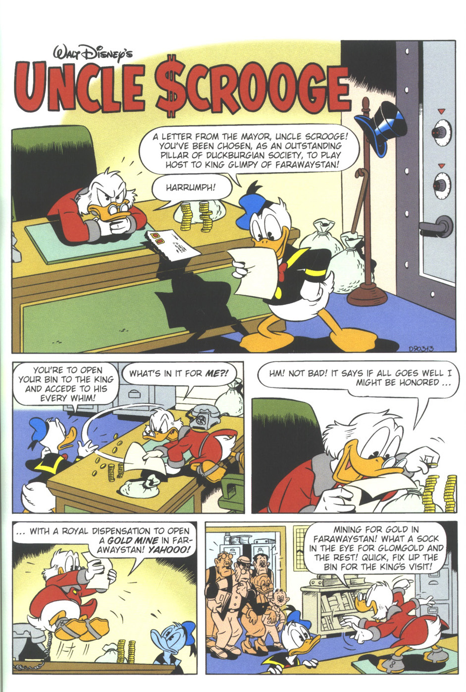 Uncle Scrooge (1953) Issue #309 #309 - English 51