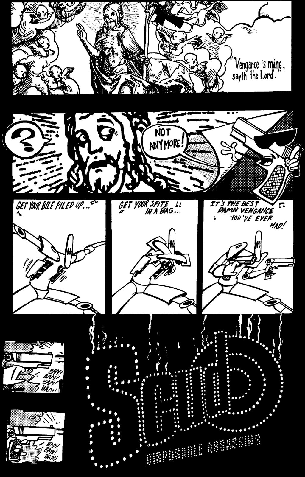 Read online Scud: The Disposable Assassin (1994) comic -  Issue #2 - 3