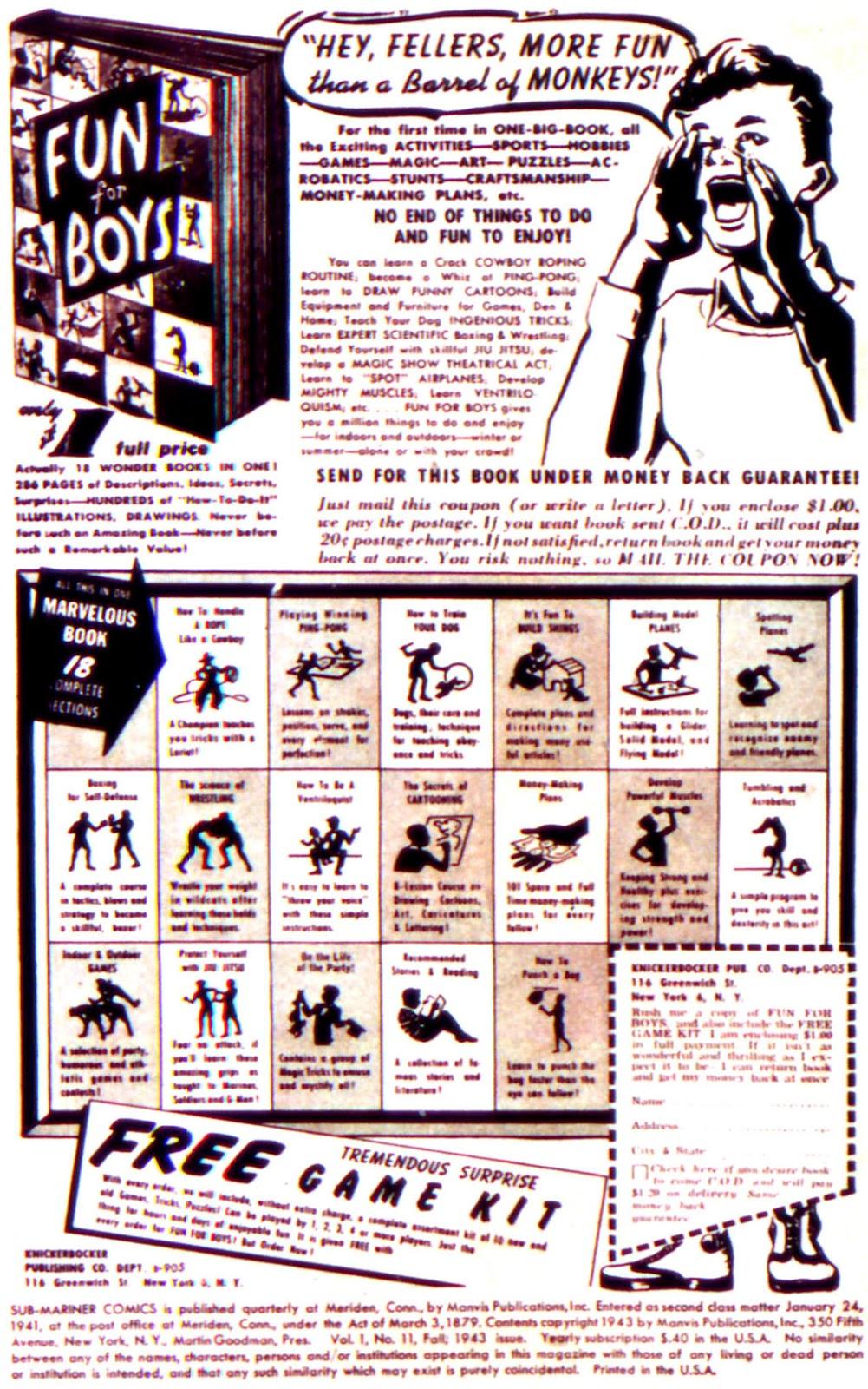 Sub-Mariner Comics Issue #11 #11 - English 2