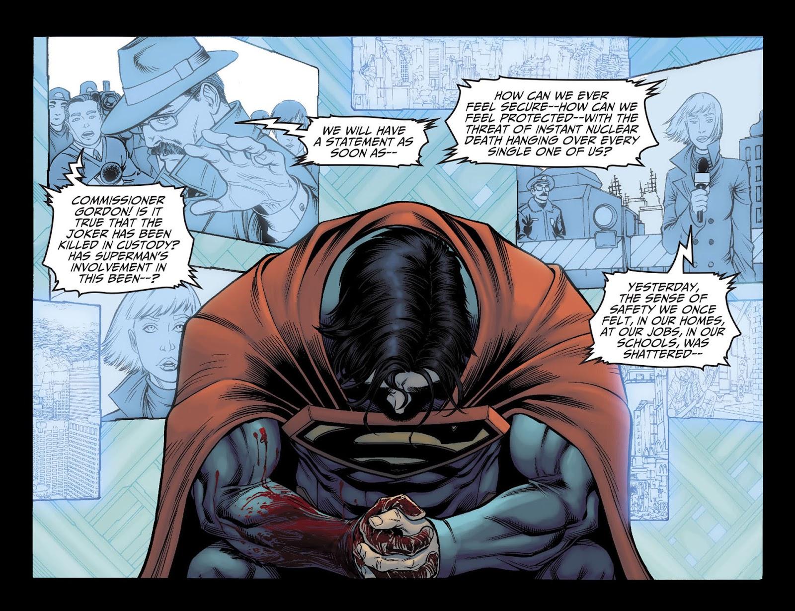 Injustice: Gods Among Us [I] Issue #6 #7 - English 4