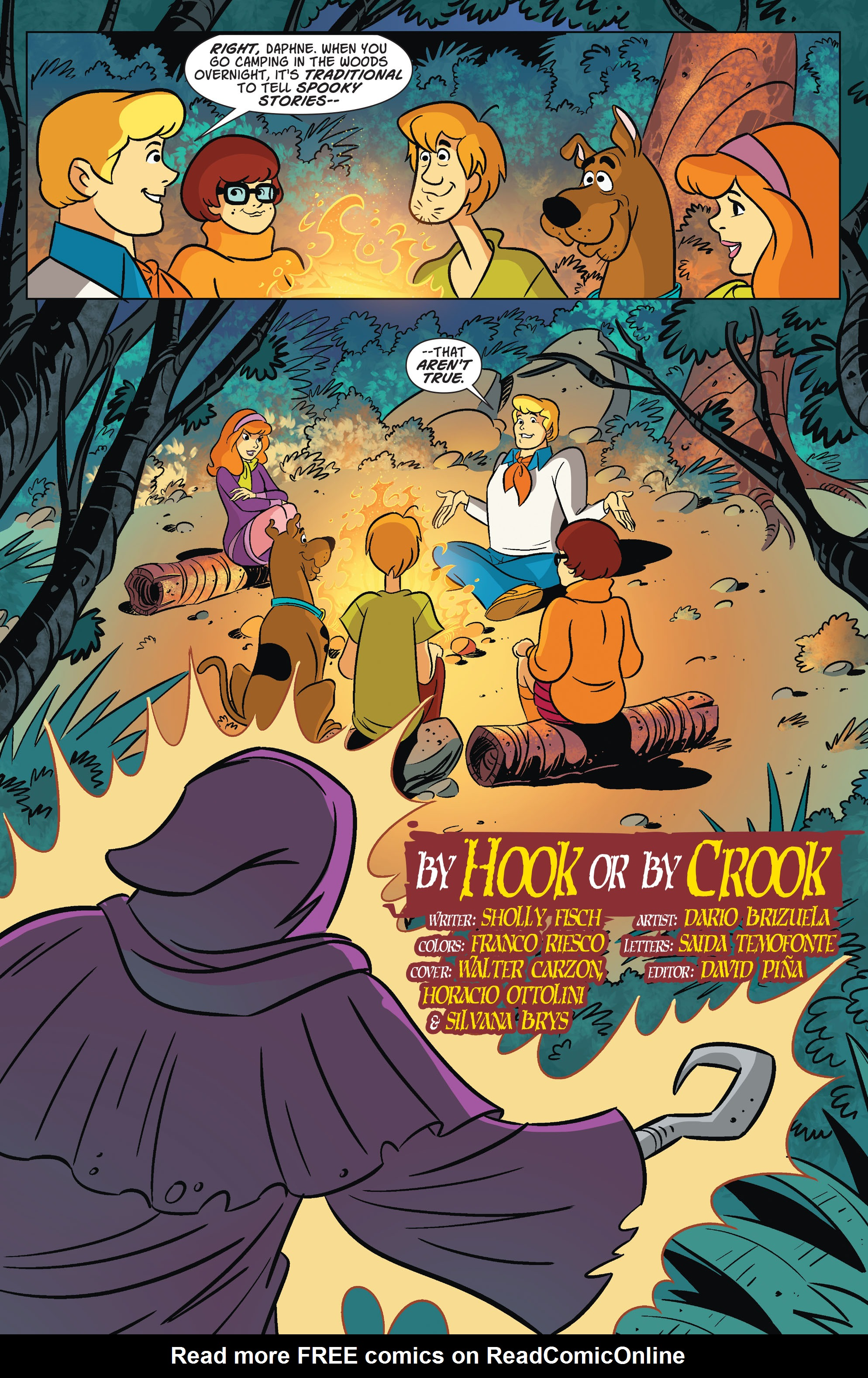 Read online Scooby-Doo: Where Are You? comic -  Issue #67 - 3