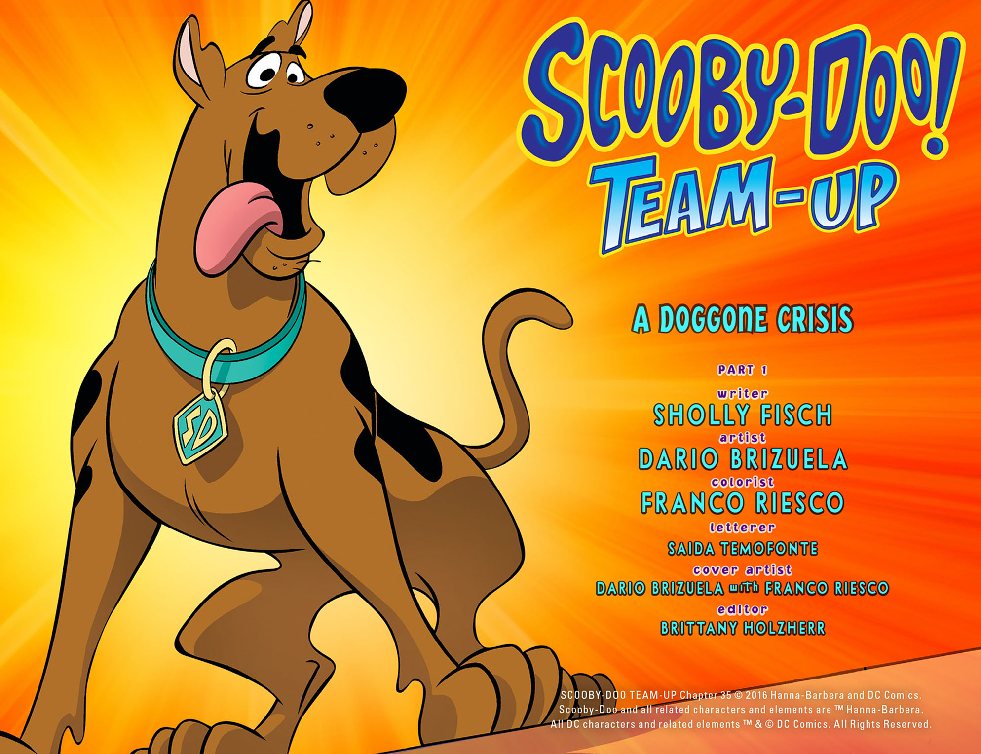 Read online Scooby-Doo! Team-Up comic -  Issue #35 - 3