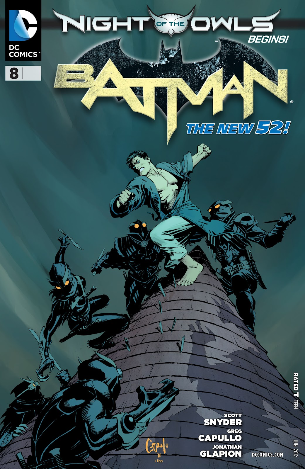 Batman (2011) Issue #8 #23 - English 1