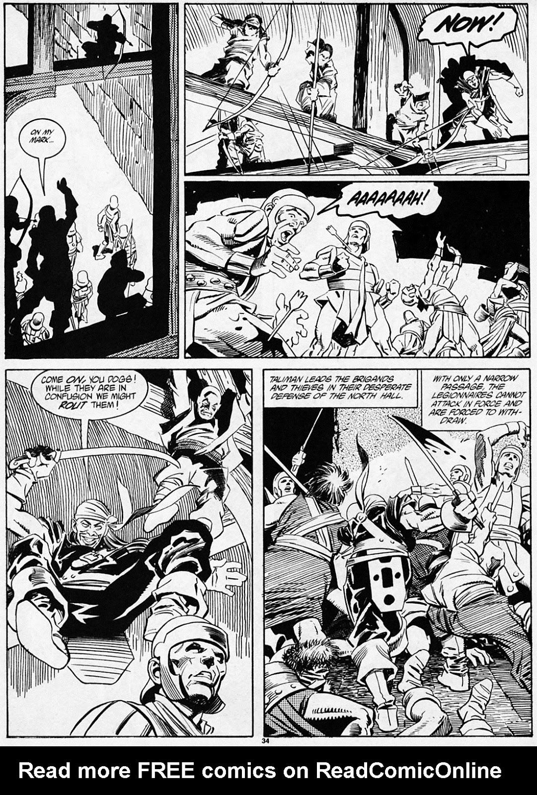 The Savage Sword Of Conan Issue #186 #187 - English 36