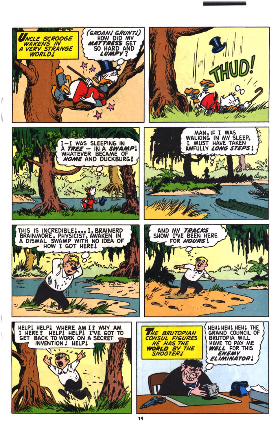Uncle Scrooge (1953) Issue #258 #258 - English 15