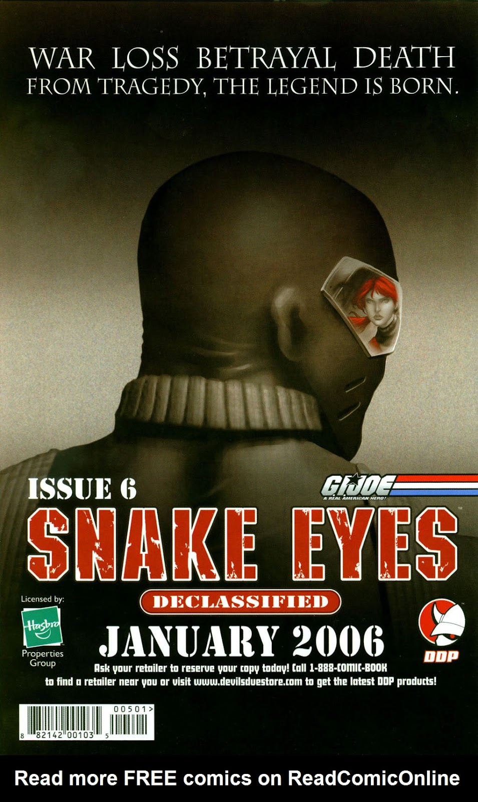 Snake Eyes: Declassified Issue #5 #5 - English 25