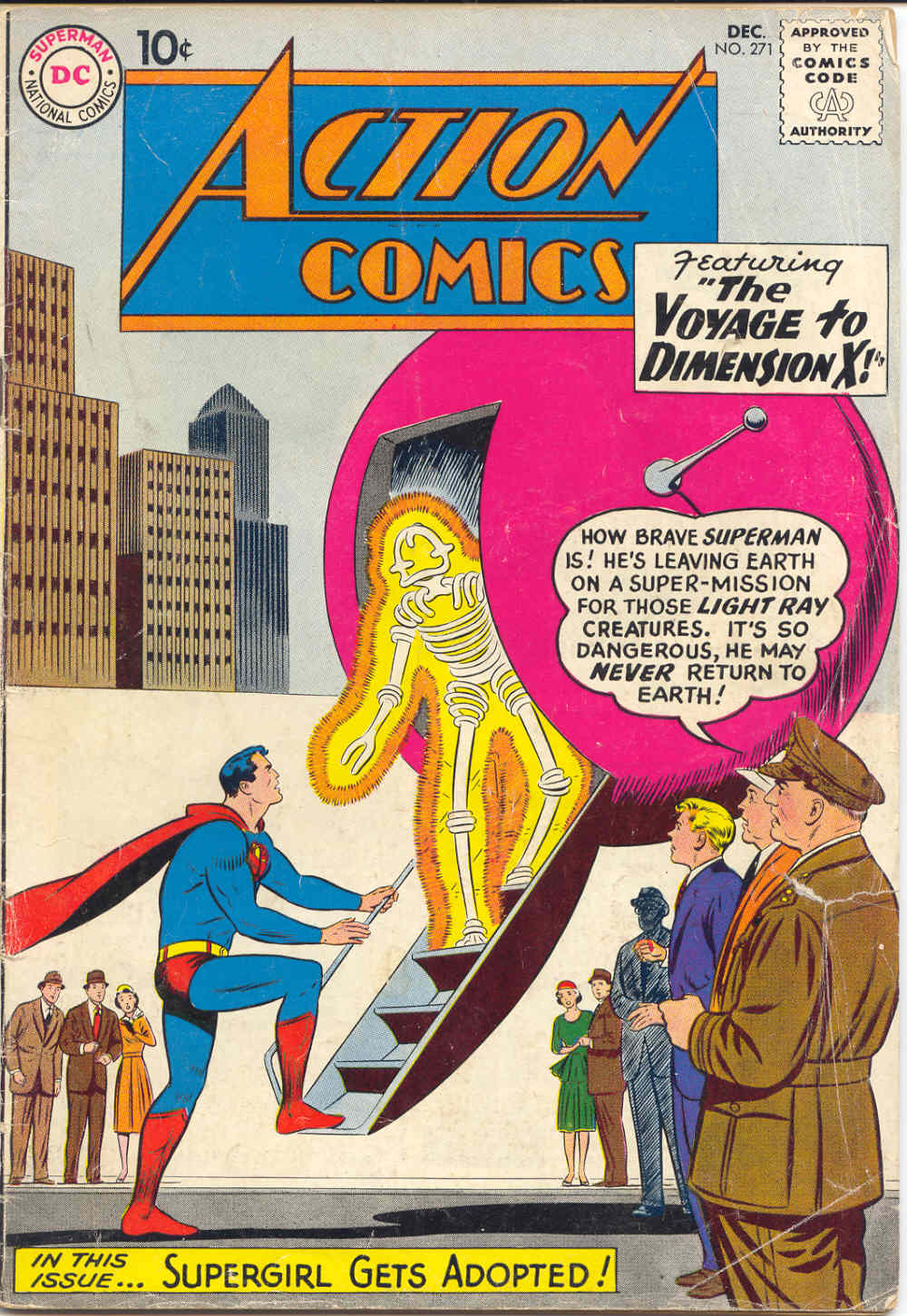 Action Comics (1938) 271 Page 1