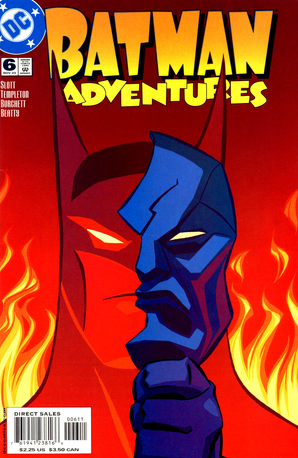 Batman Adventures (2003) 6 Page 1
